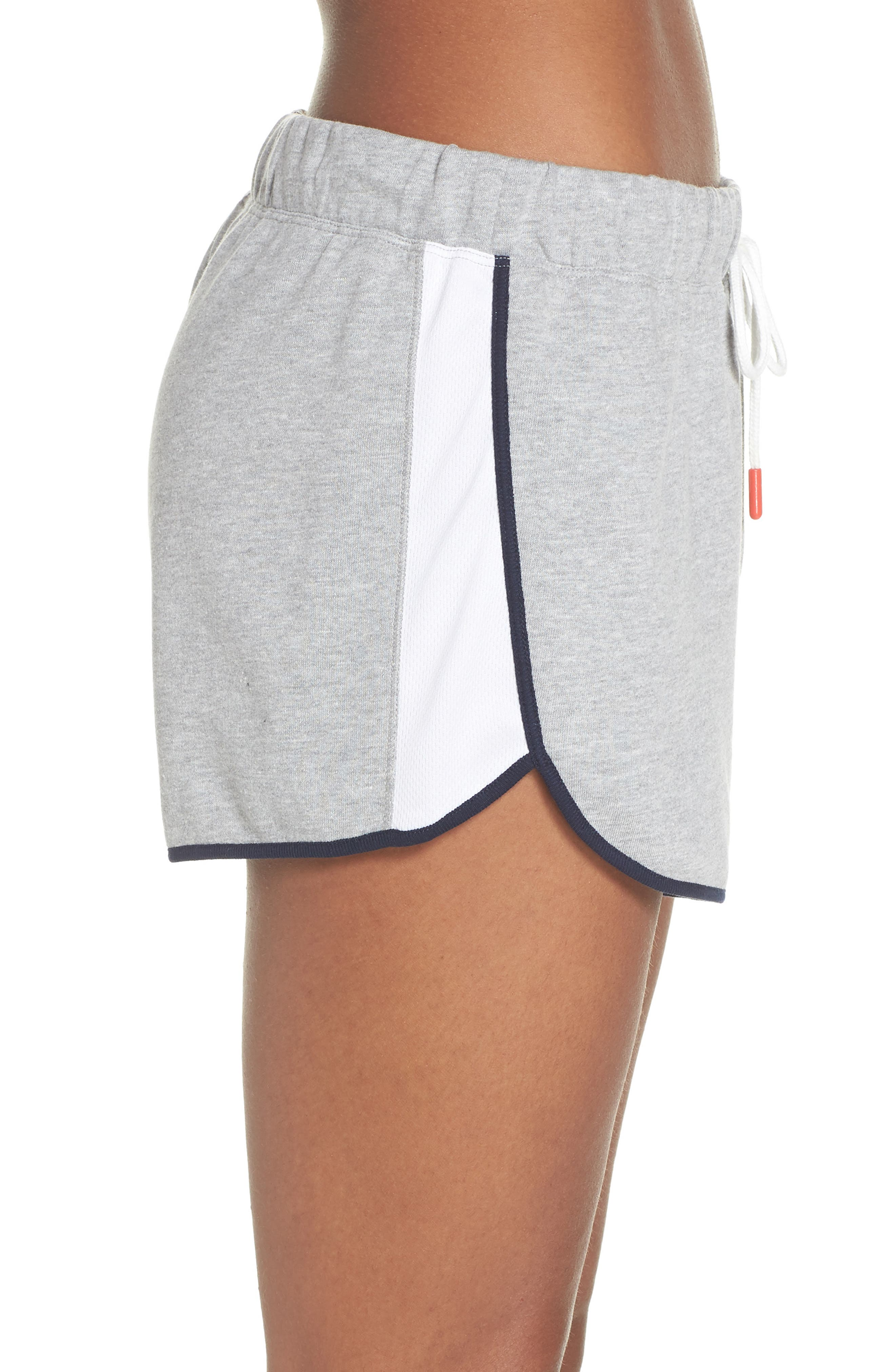 Lounge Shorts,                             Alternate thumbnail 3, color,                             Heather Gray