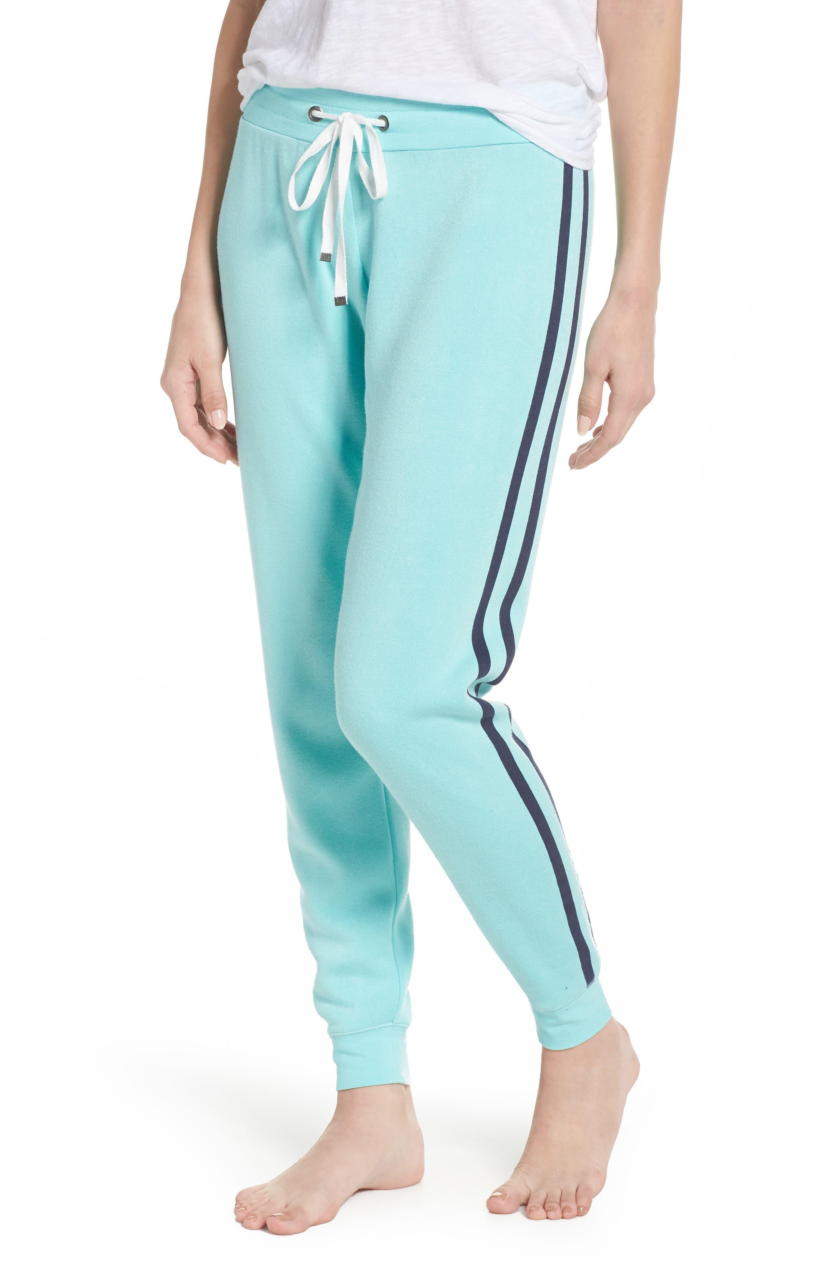 Firecracker Jogger Pajama Pants,                         Main,                         color, Teal Sky