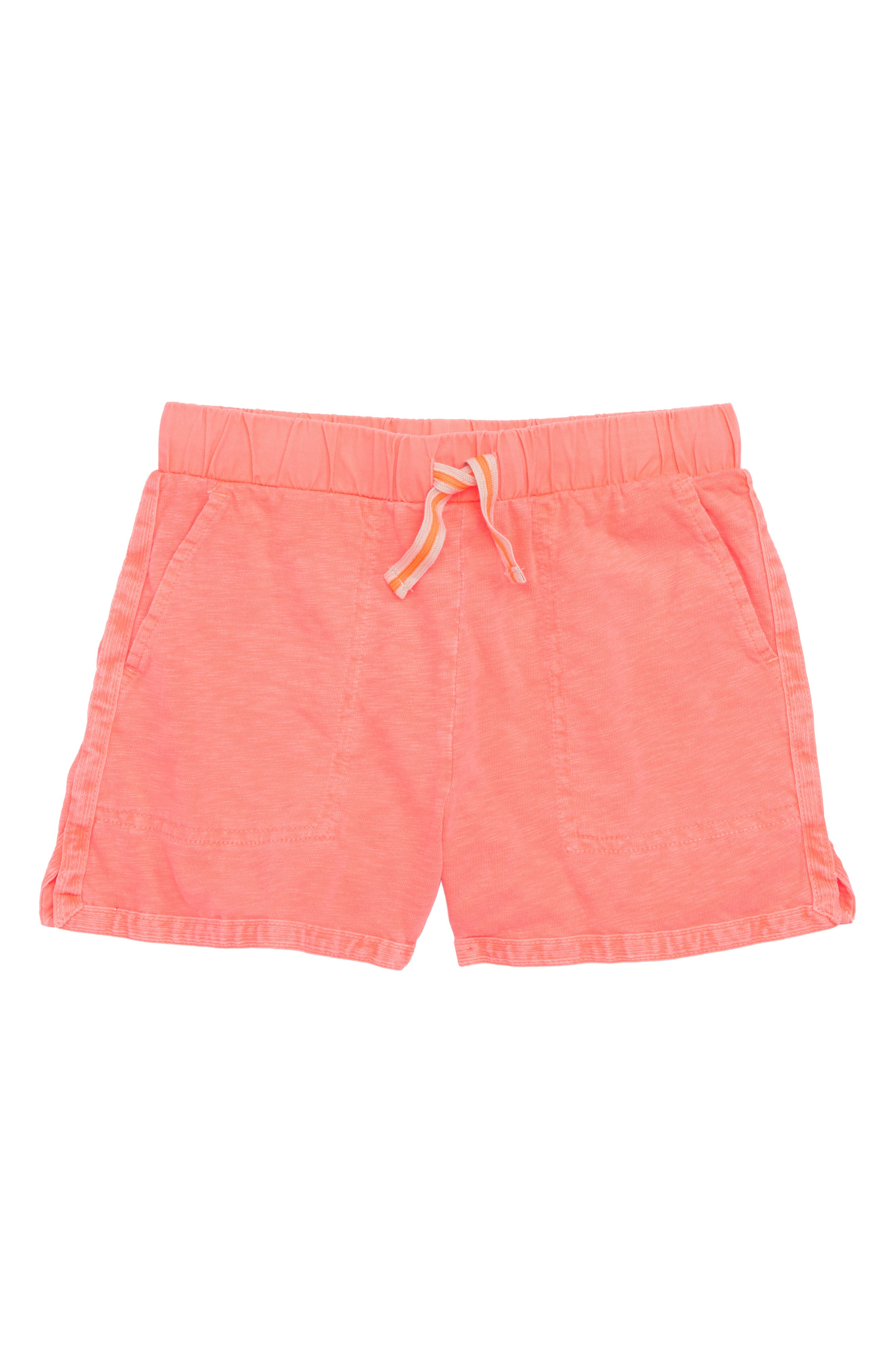 crewcuts by J.Crew Ester Cotton Shorts (Toddler Girls, Little Girls & Big Girls)