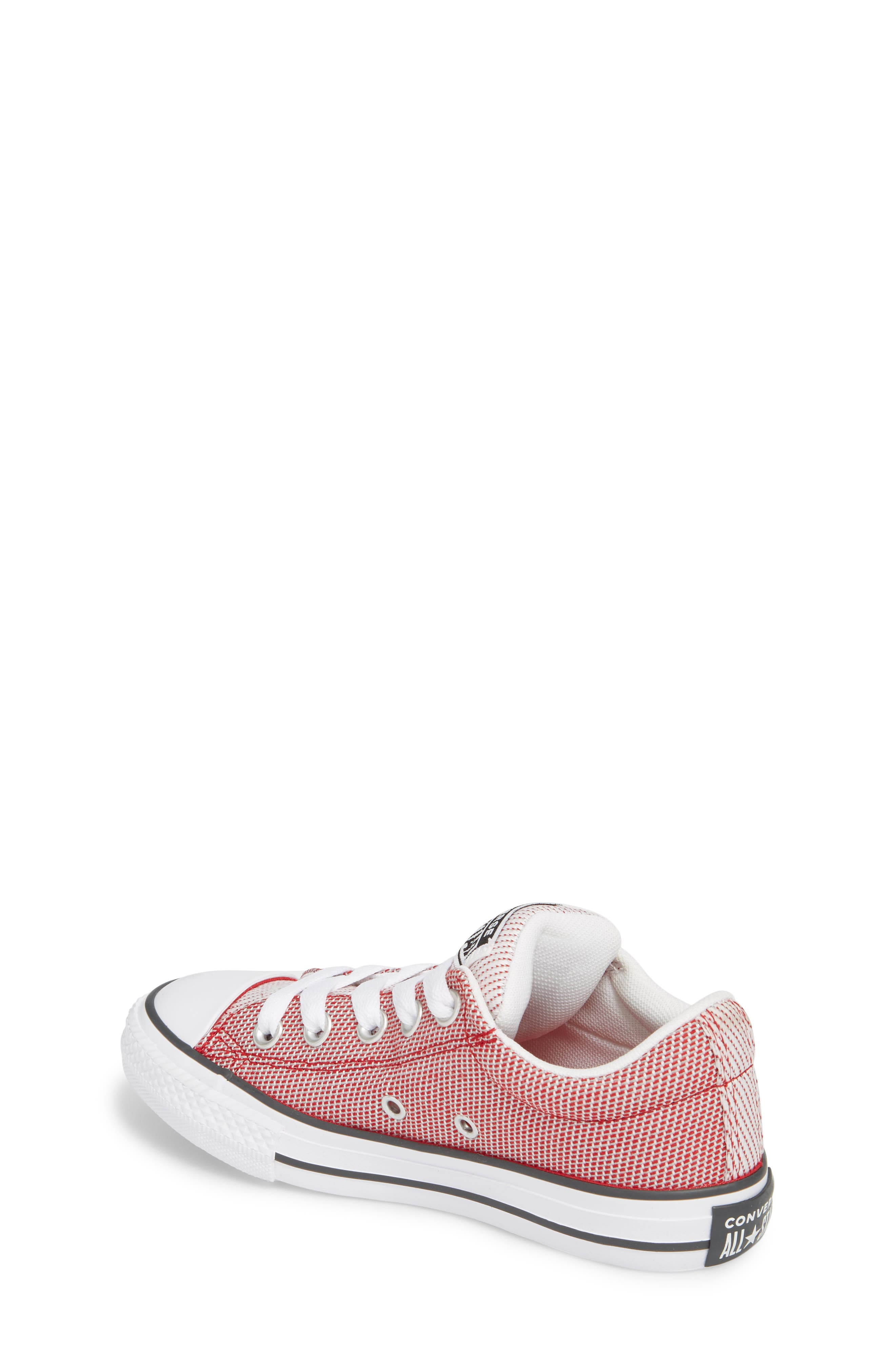 Chuck Taylor<sup>®</sup> All Star<sup>®</sup> Woven Street Sneaker,                             Alternate thumbnail 2, color,                             Gym Red
