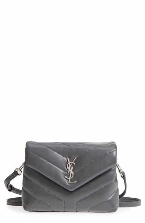 1b737b5d2ea6 Saint Laurent Toy Loulou Calfskin Leather Crossbody Bag
