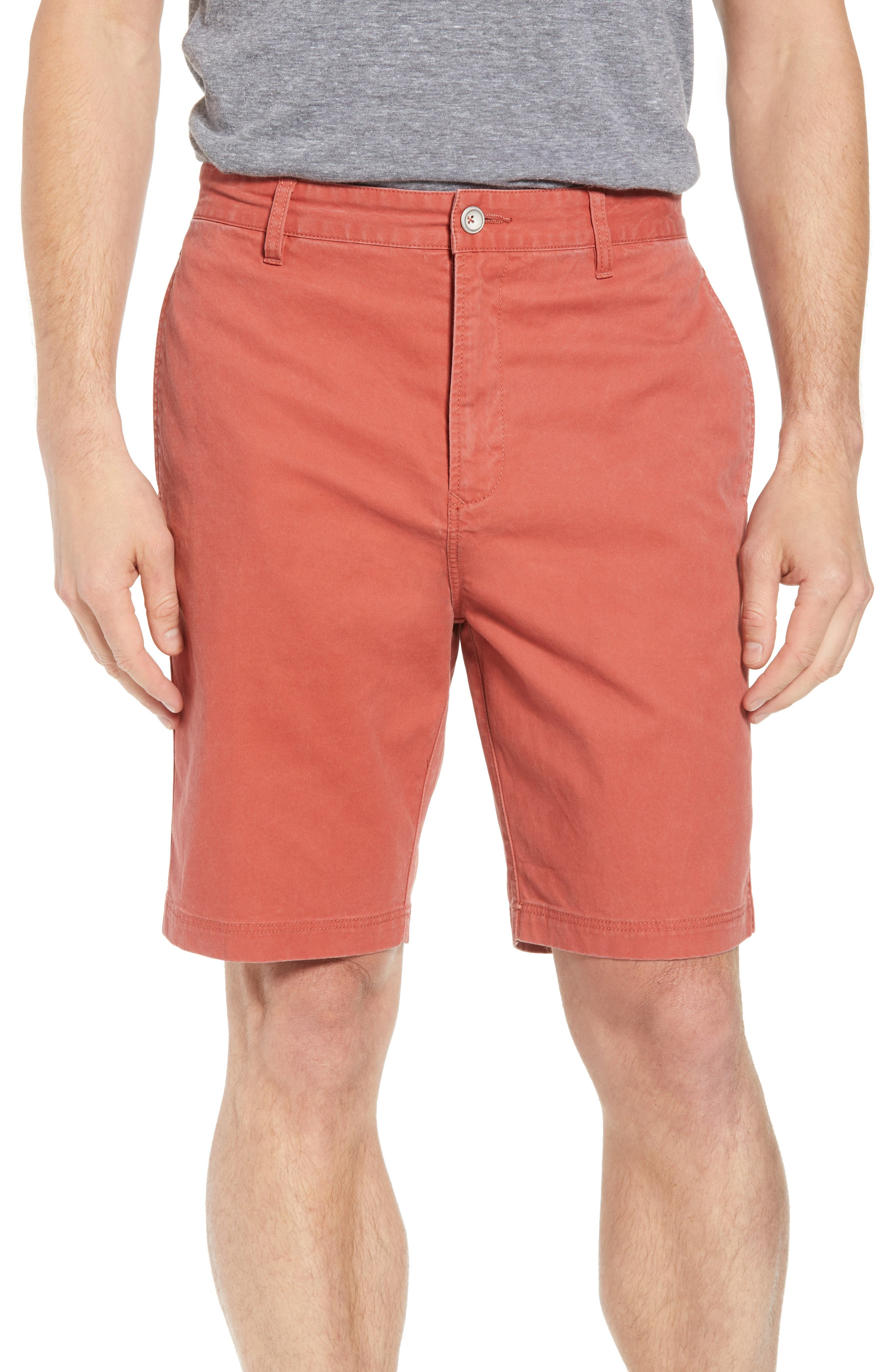 Glenburn Shorts,                             Main thumbnail 1, color,                             Red Ochre