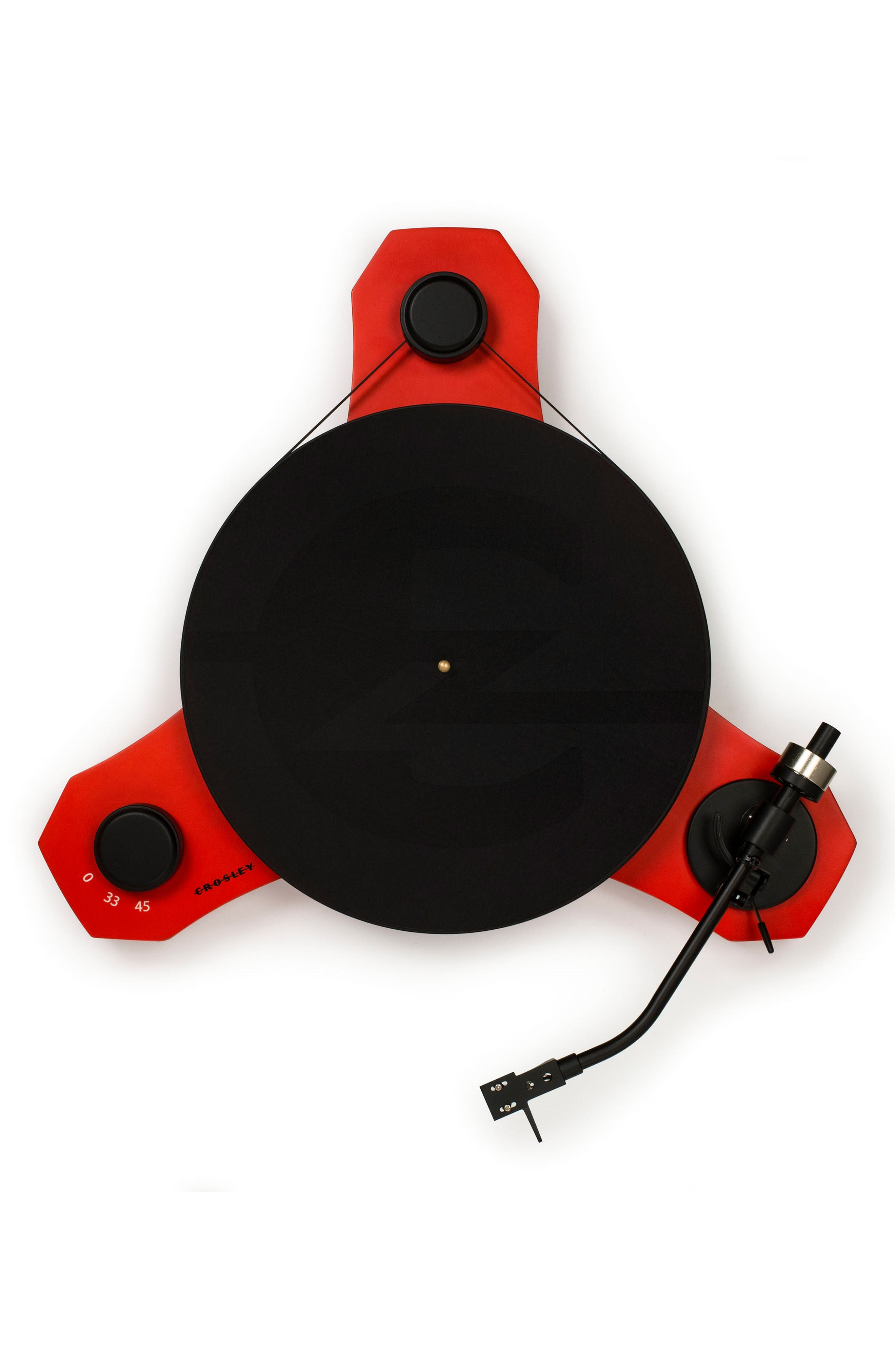 C3 Turntable,                             Alternate thumbnail 3, color,                             Red