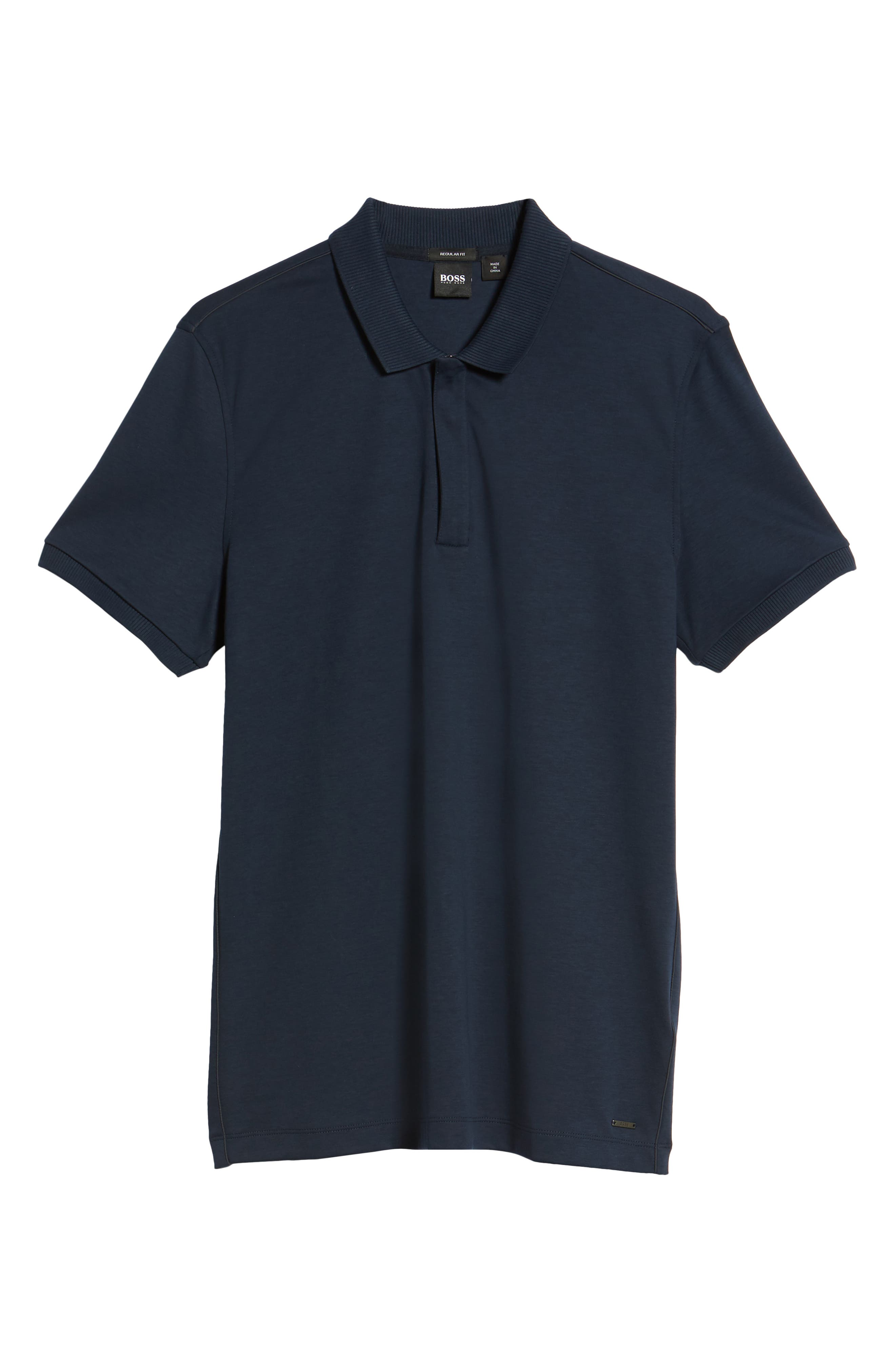 Pohl Polo Shirt,                             Alternate thumbnail 6, color,                             Blue