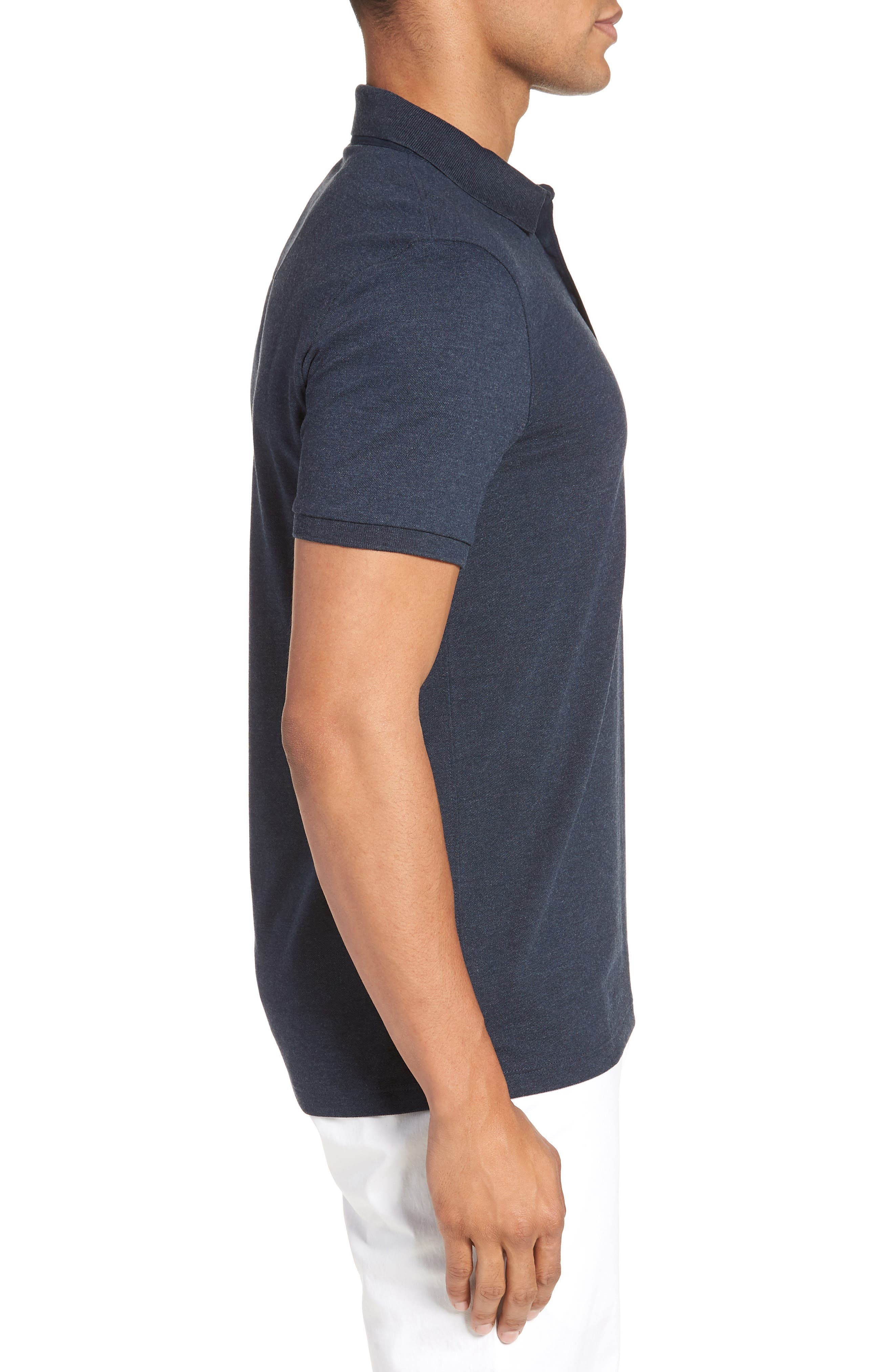 Penrose Polo Shirt,                             Alternate thumbnail 3, color,                             Blue