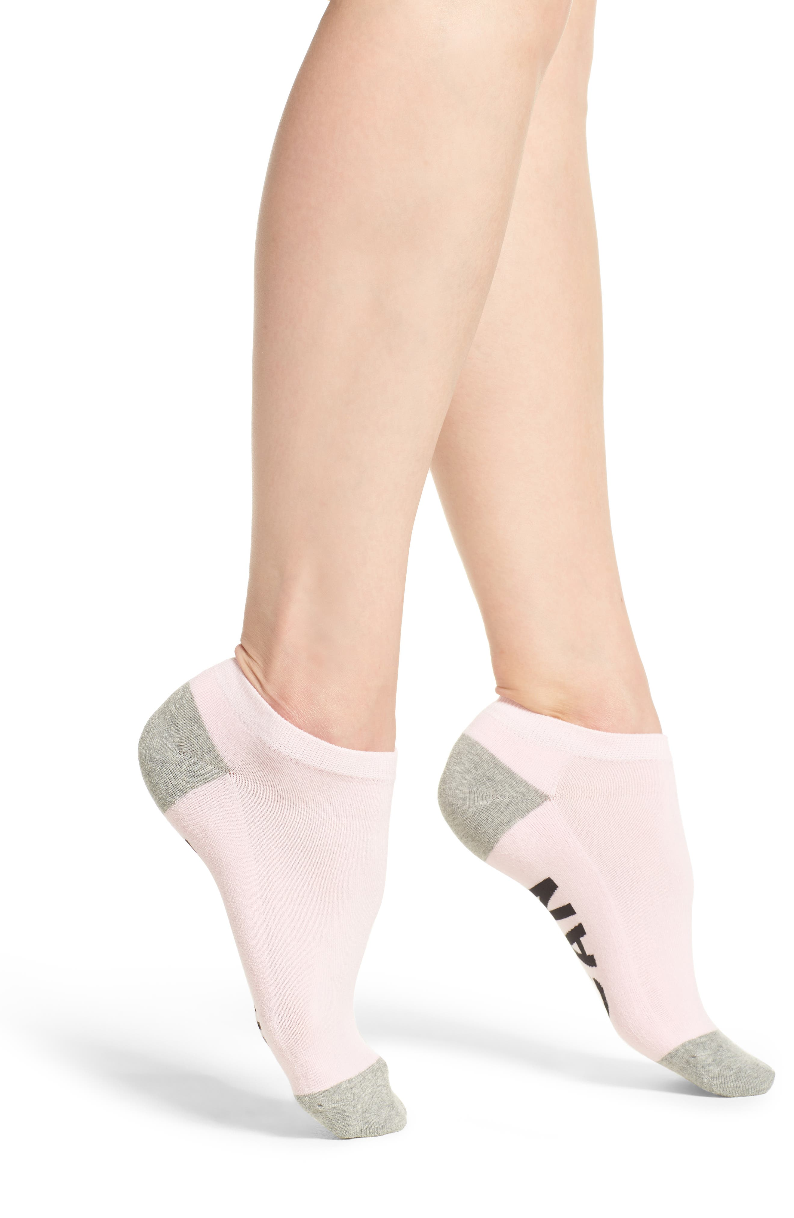 This Girl Can Low-Cut Socks,                         Main,                         color, Light Pink