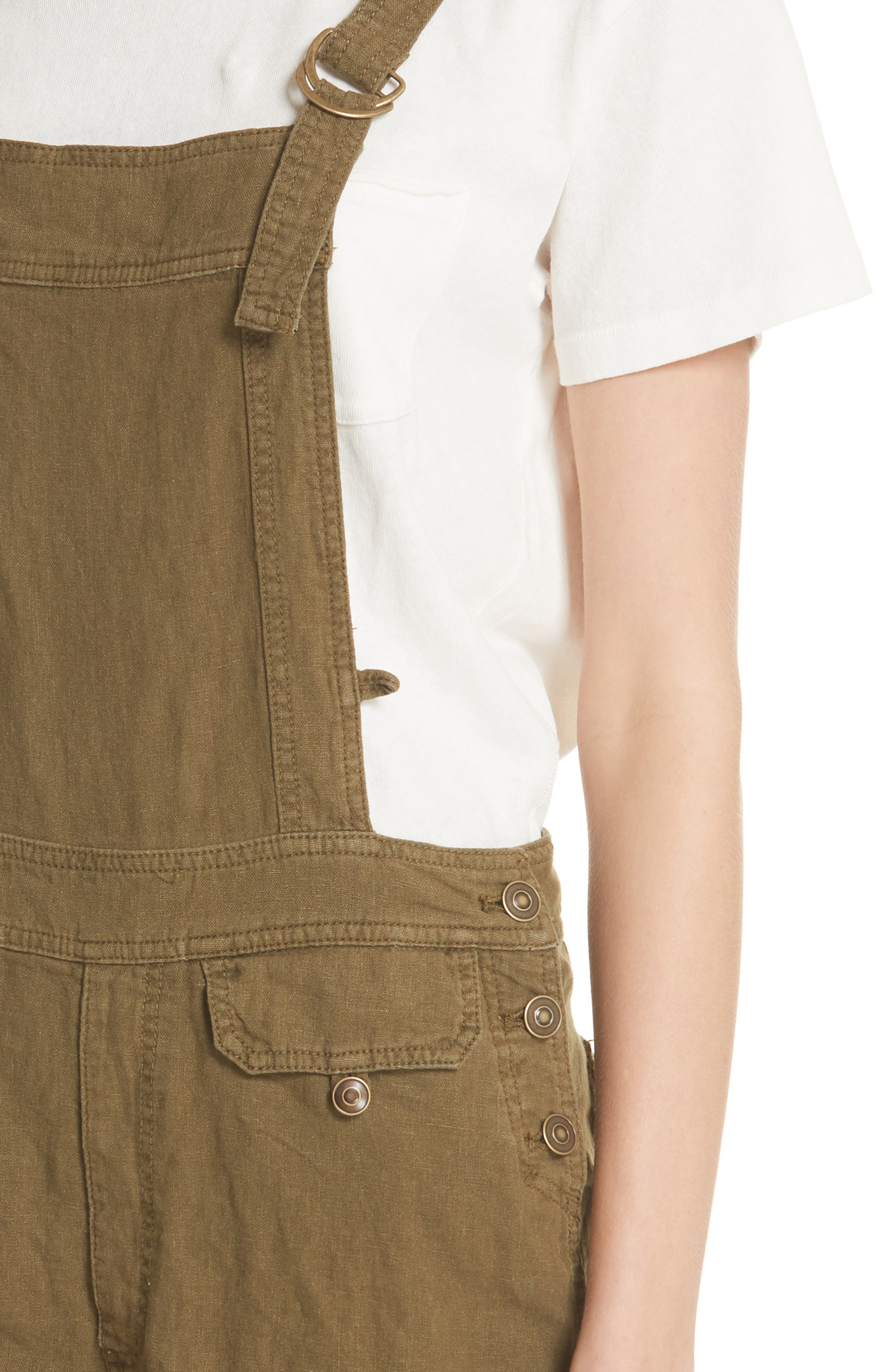 Expedition Short Overalls,                             Alternate thumbnail 4, color,                             Army