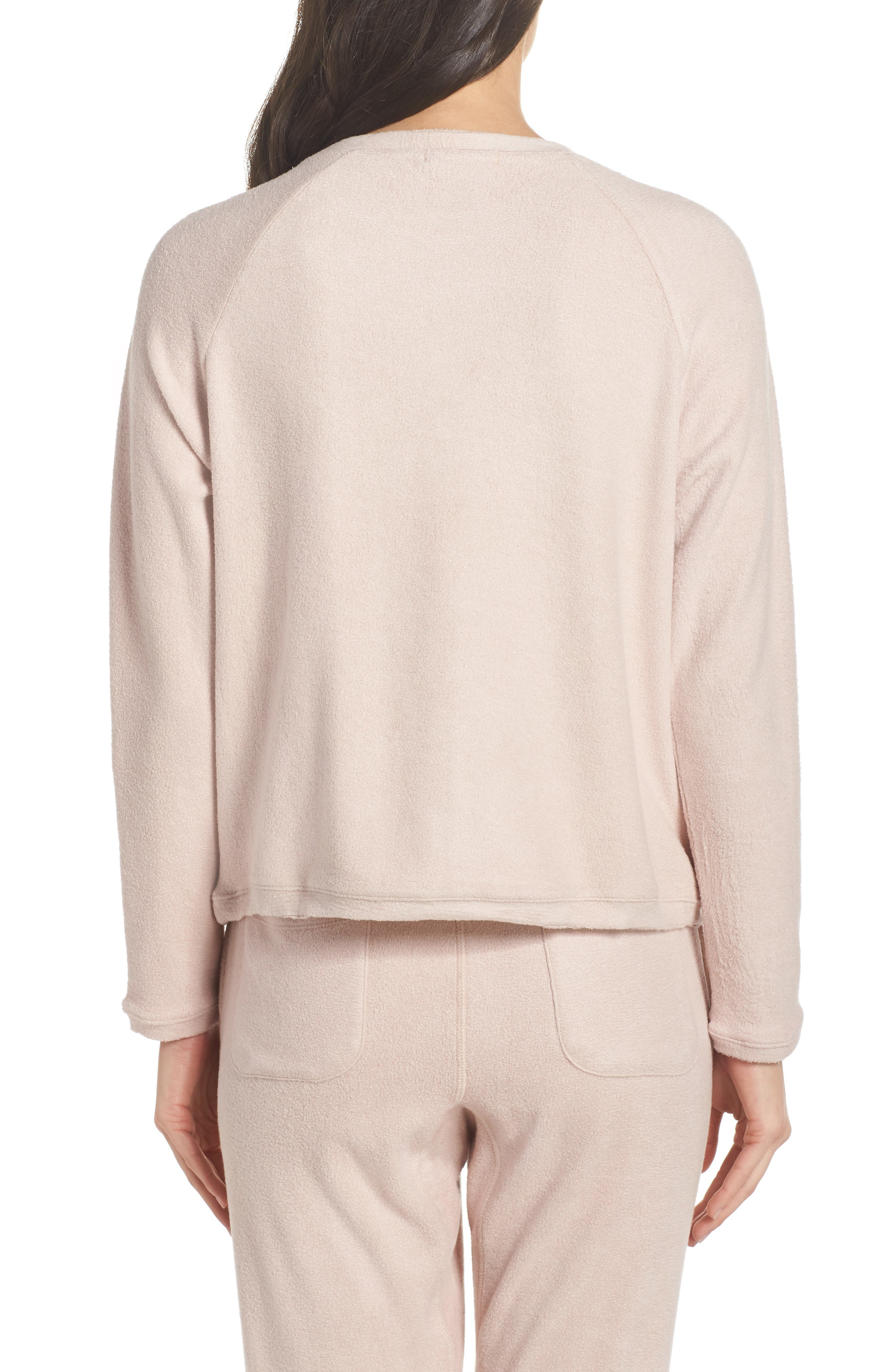Slouchy Sweatshirt,                             Alternate thumbnail 2, color,                             Dusty Pink