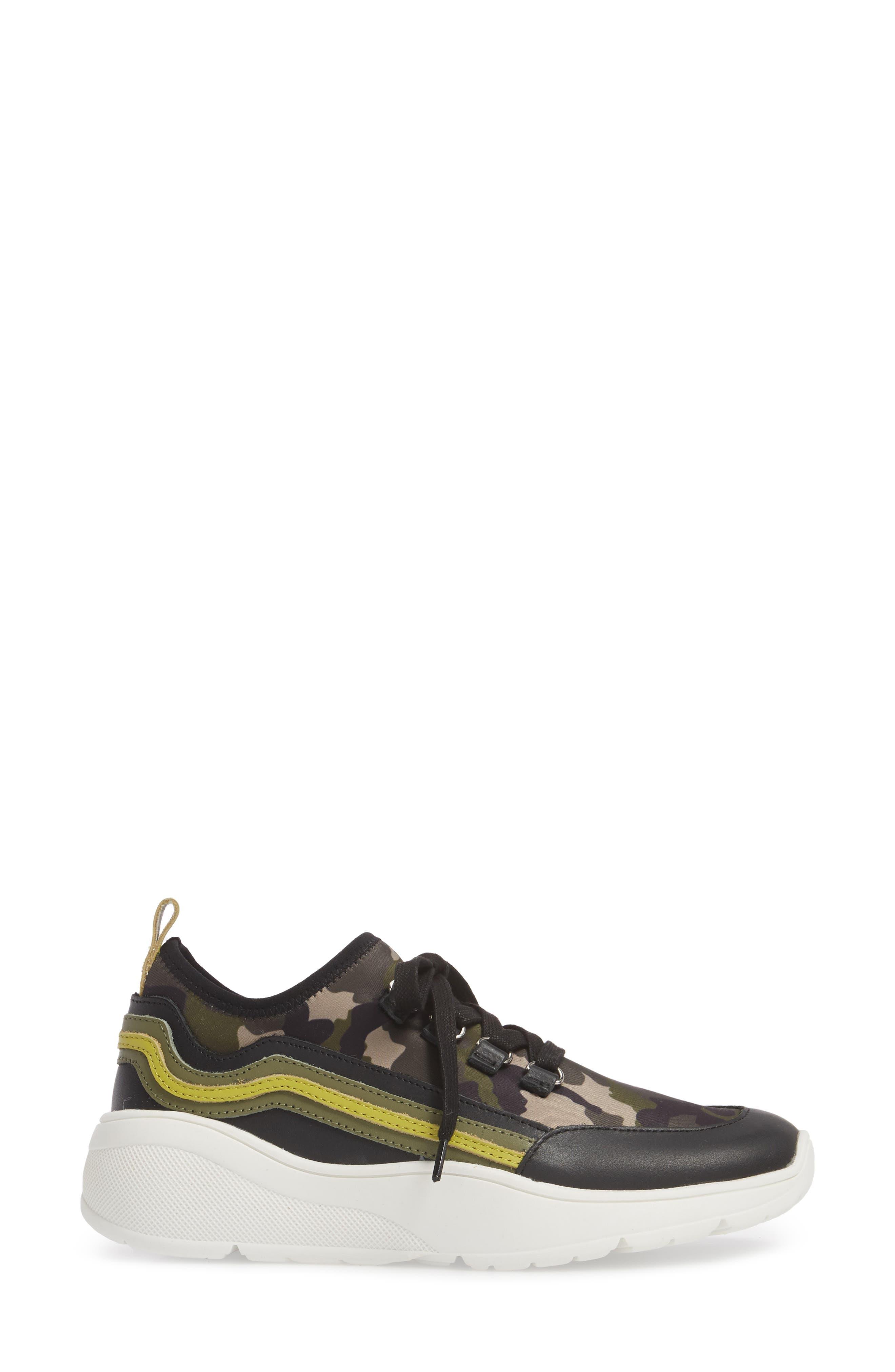 Cavo Rainbow Sneaker,                             Alternate thumbnail 3, color,                             Camo Multi