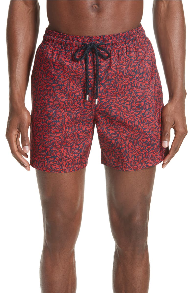 Vilebrequin Mini Fishes Print Swim Trunks | Nordstrom