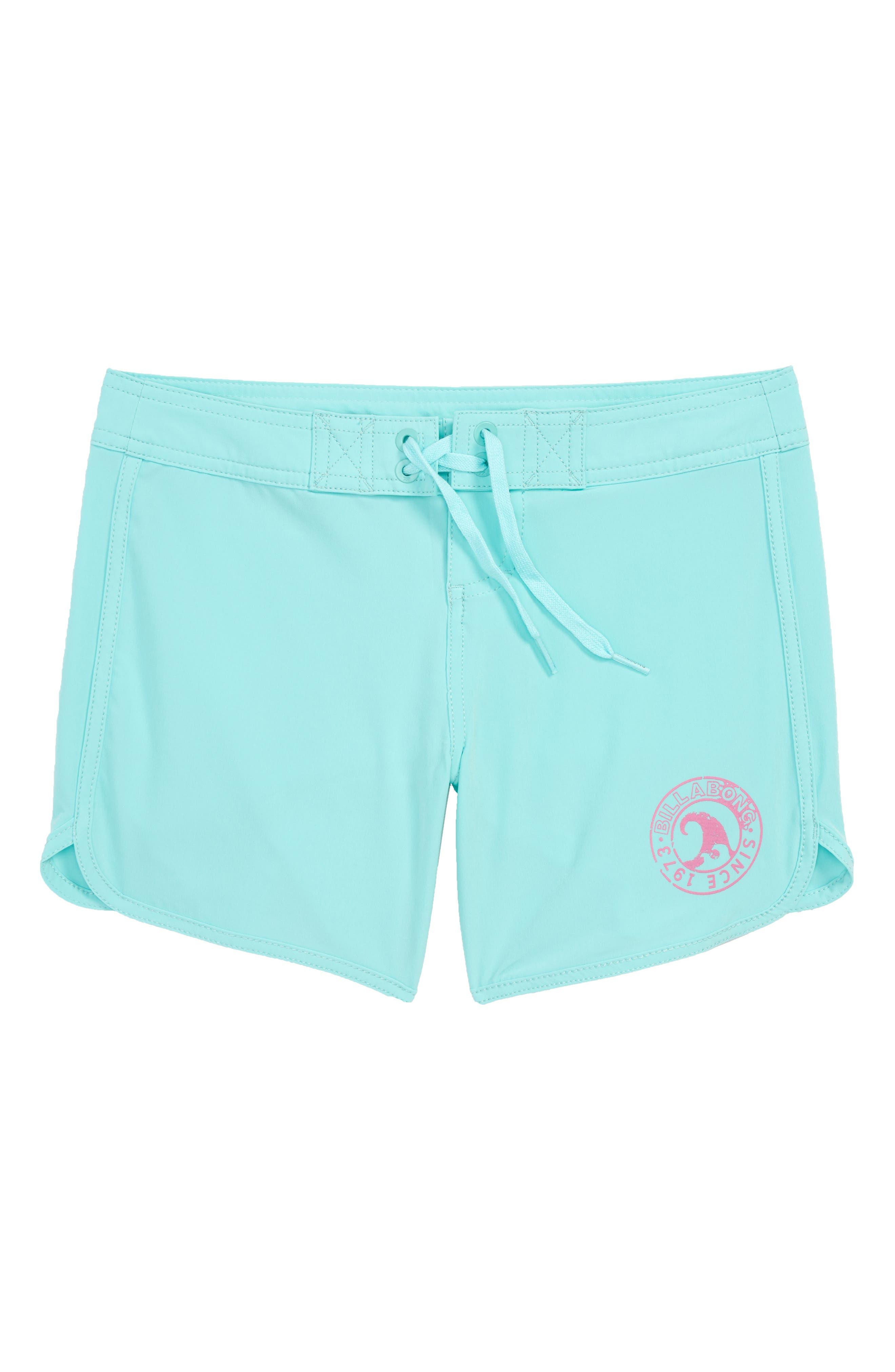Sol Searcher Board Shorts,                         Main,                         color, Beach Glass