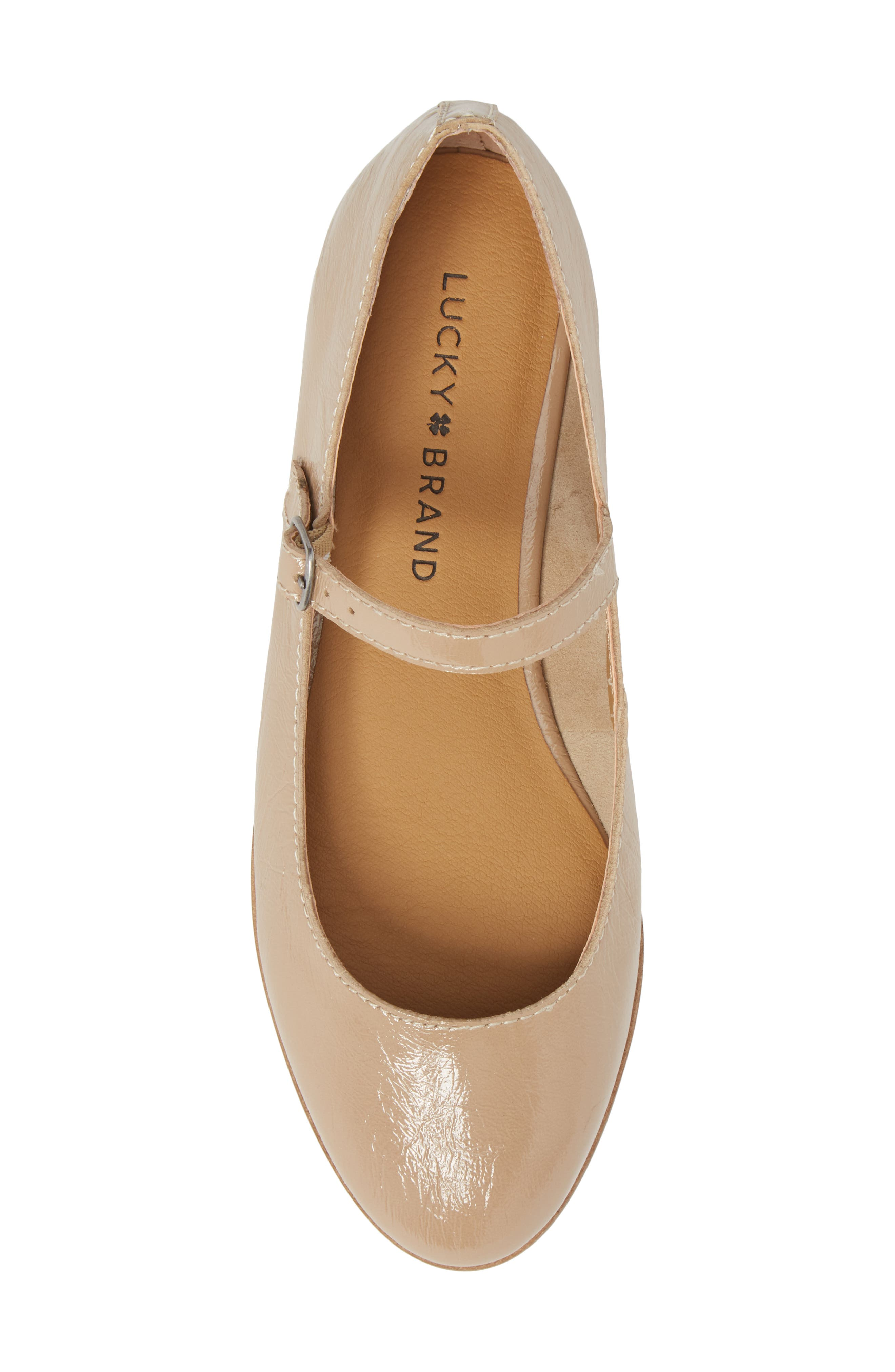 Ceentana Mary Jane Flat,                             Alternate thumbnail 5, color,                             Feather Leather