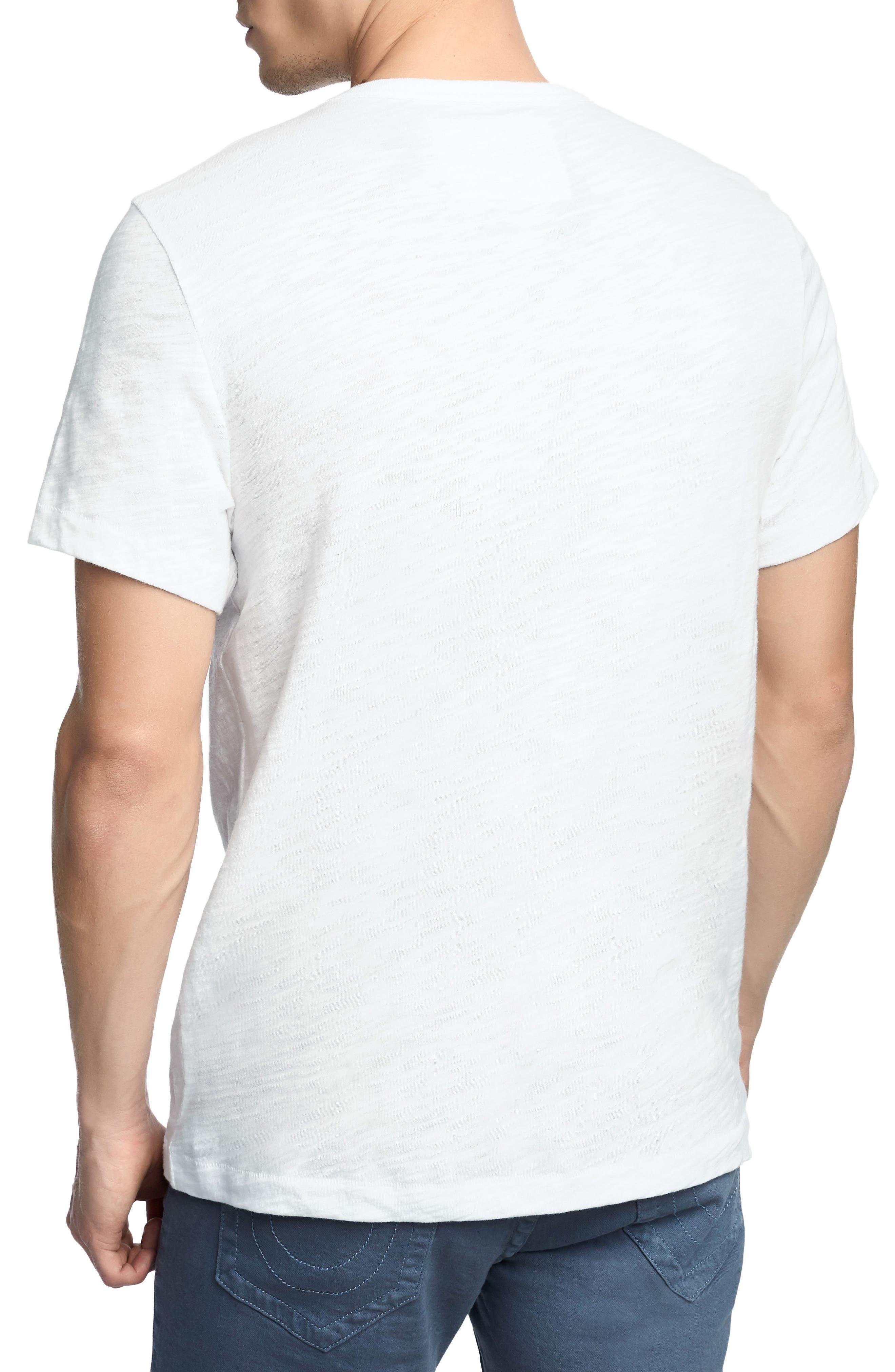 Born Free T-Shirt,                             Alternate thumbnail 2, color,                             Optic White