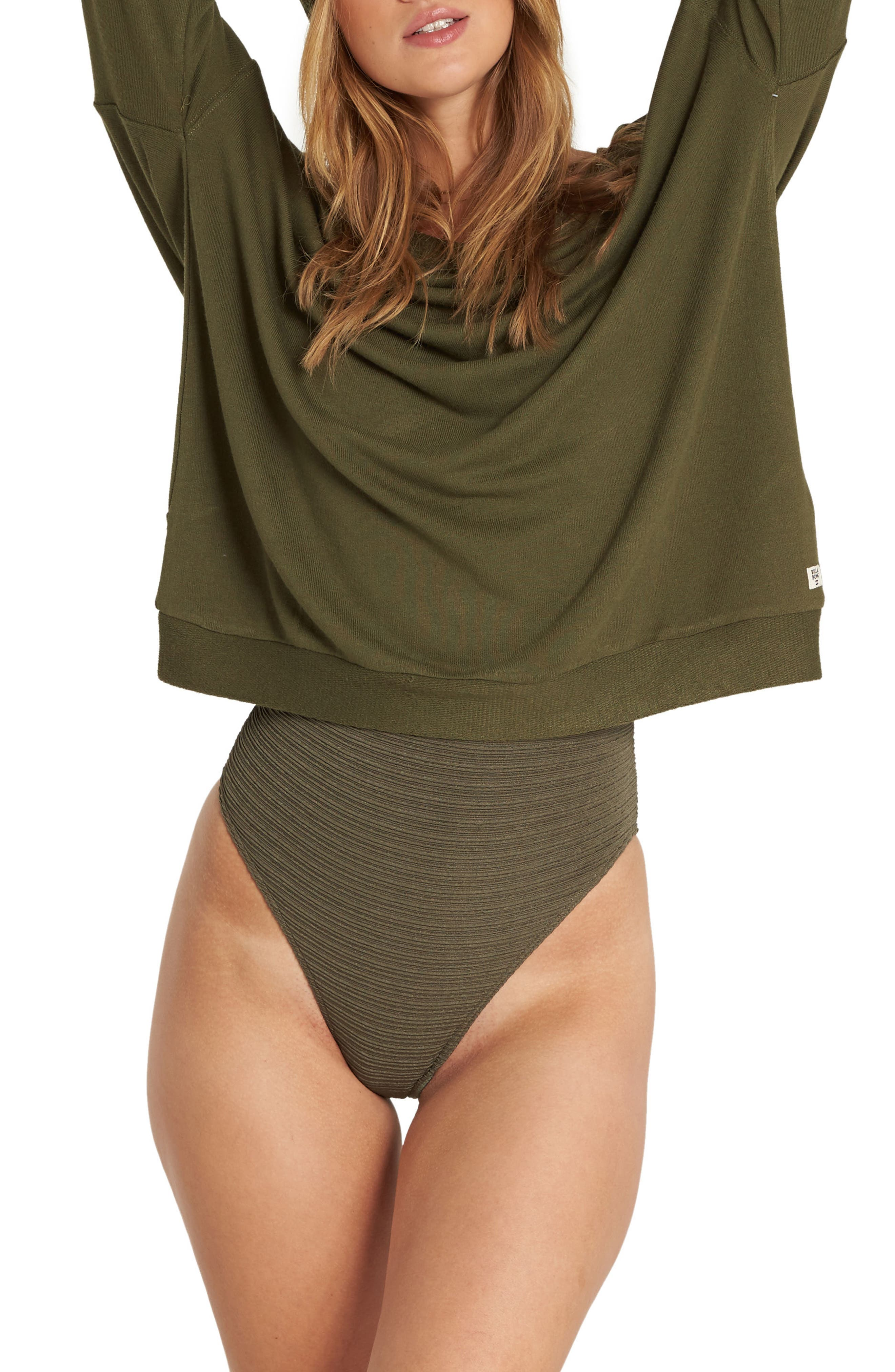 Let Go Top,                         Main,                         color, Olive