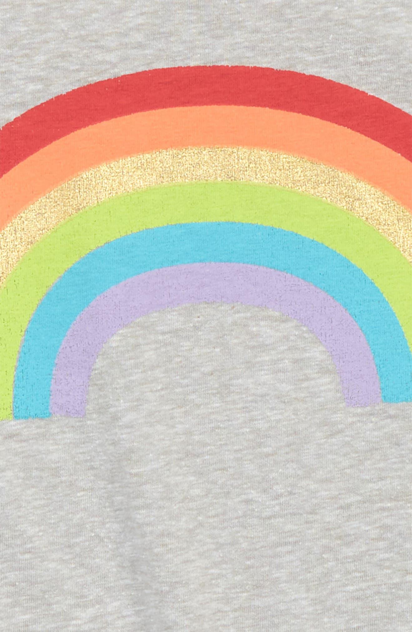 Graphic Ringer Tank,                             Alternate thumbnail 2, color,                             Grey Ash Heather Rainbow
