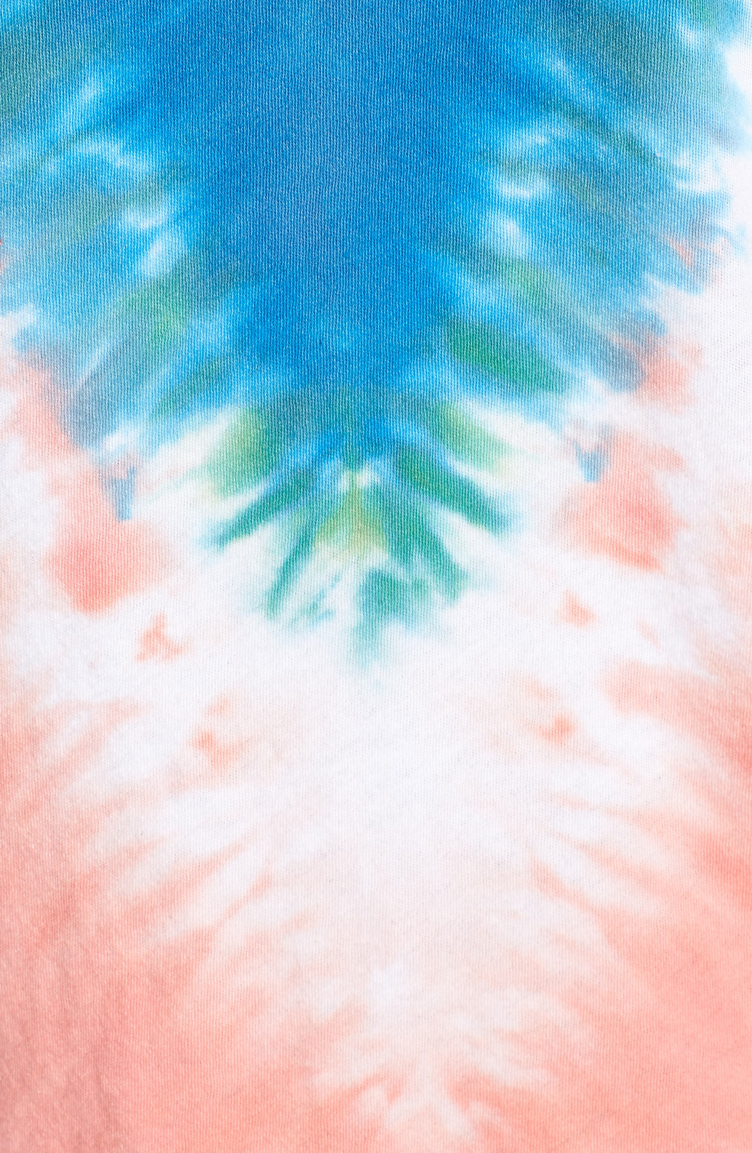Bahama Mama No9 Tee,                             Alternate thumbnail 5, color,                             Pacific Tie Dye