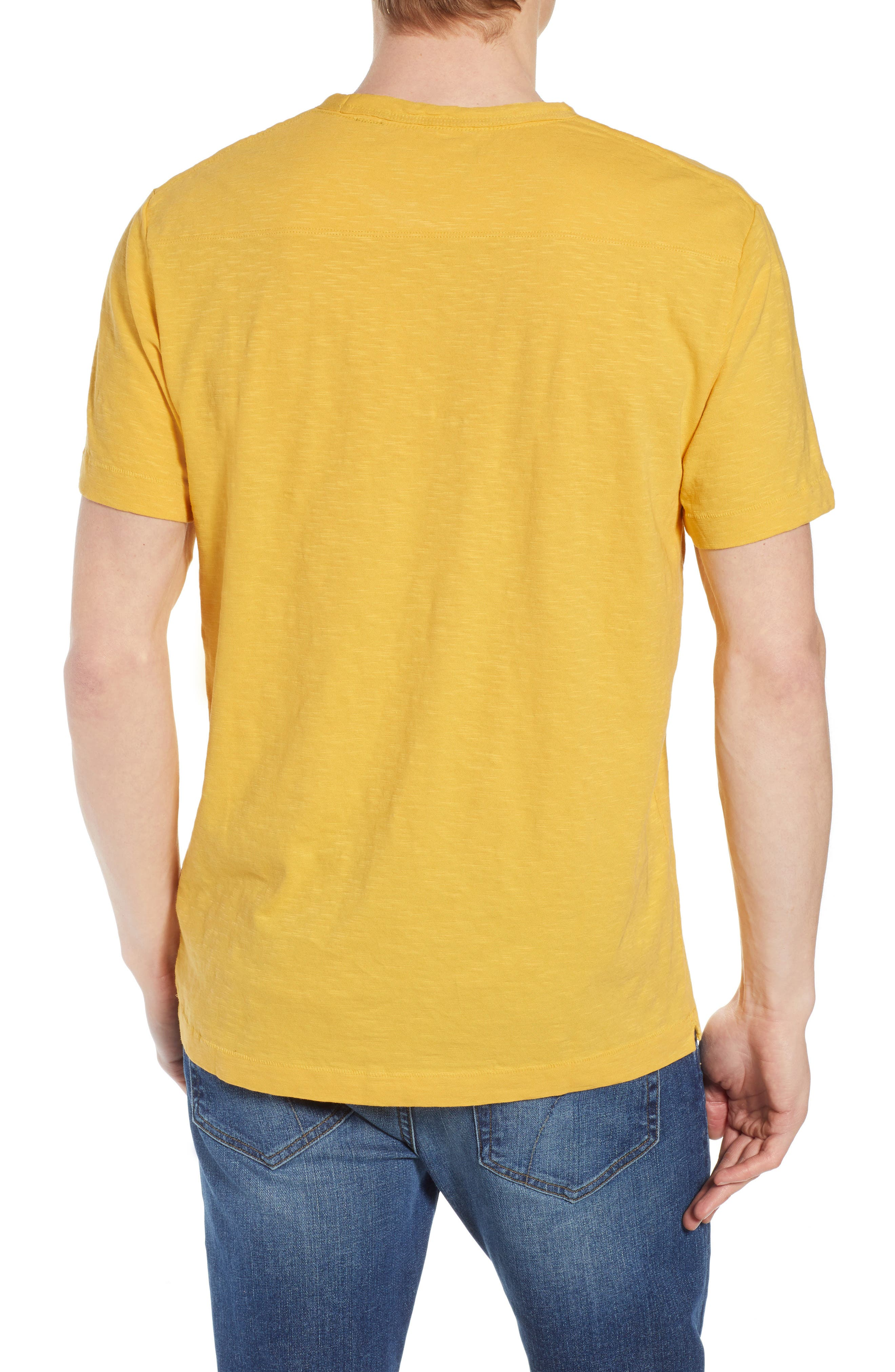 Soleil T-Shirt,                             Alternate thumbnail 2, color,                             Banana