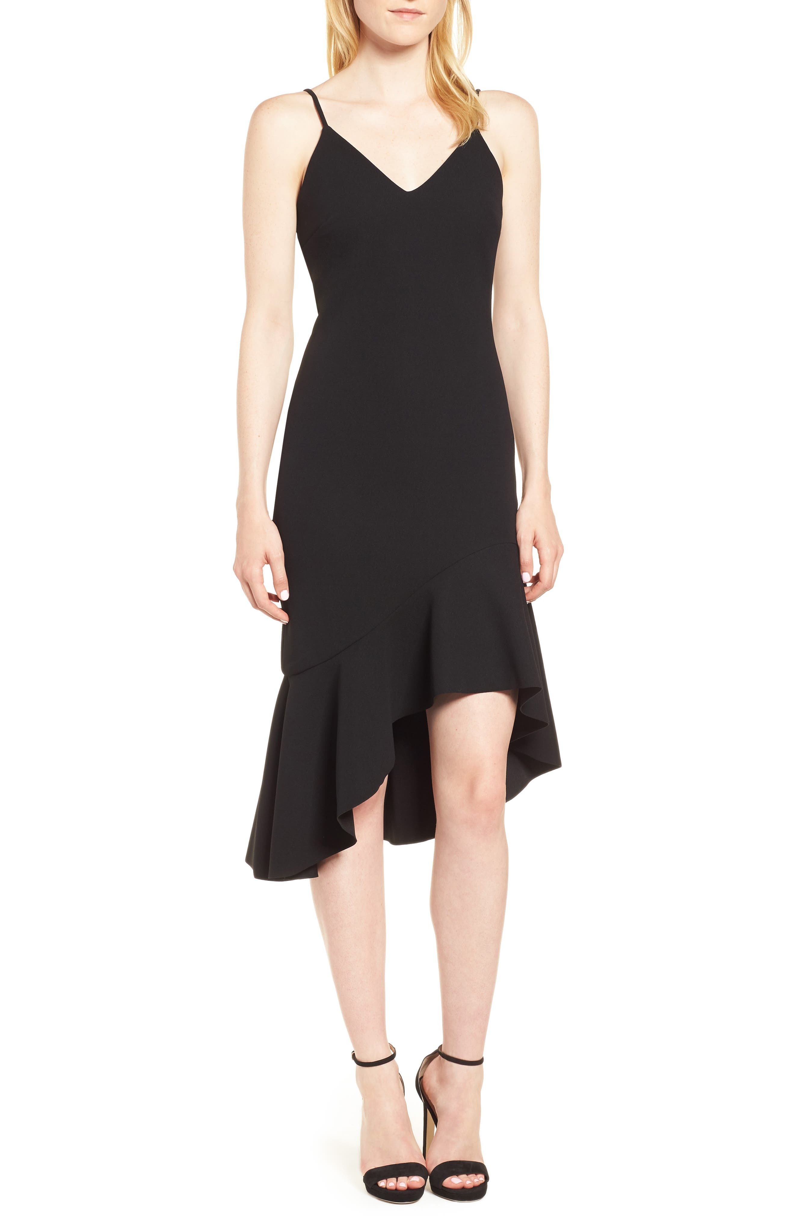 Artemis Dress,                         Main,                         color, Black