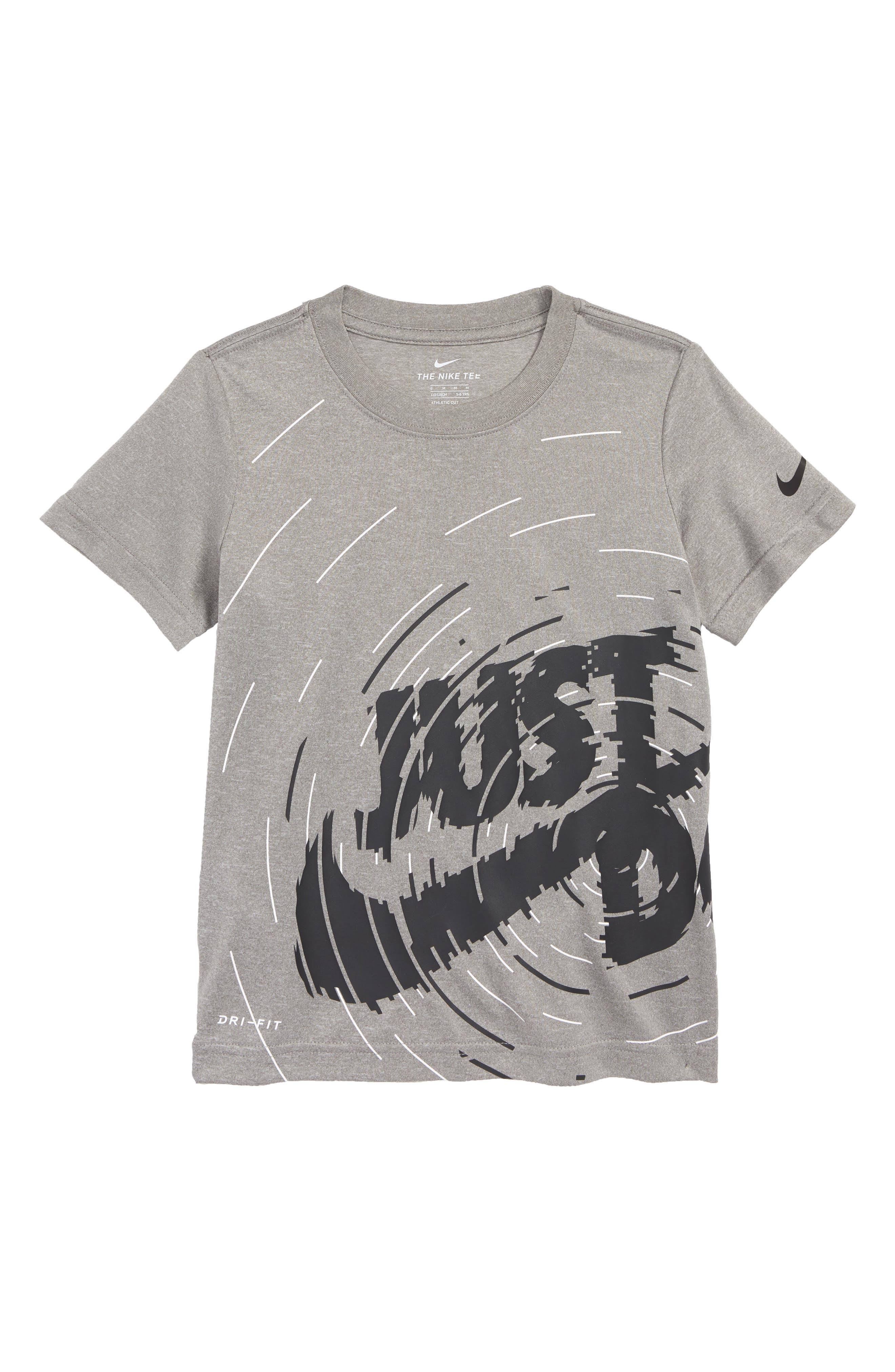 Dry Ripple JDI Graphic T-Shirt,                             Main thumbnail 1, color,                             Dark Grey Heather