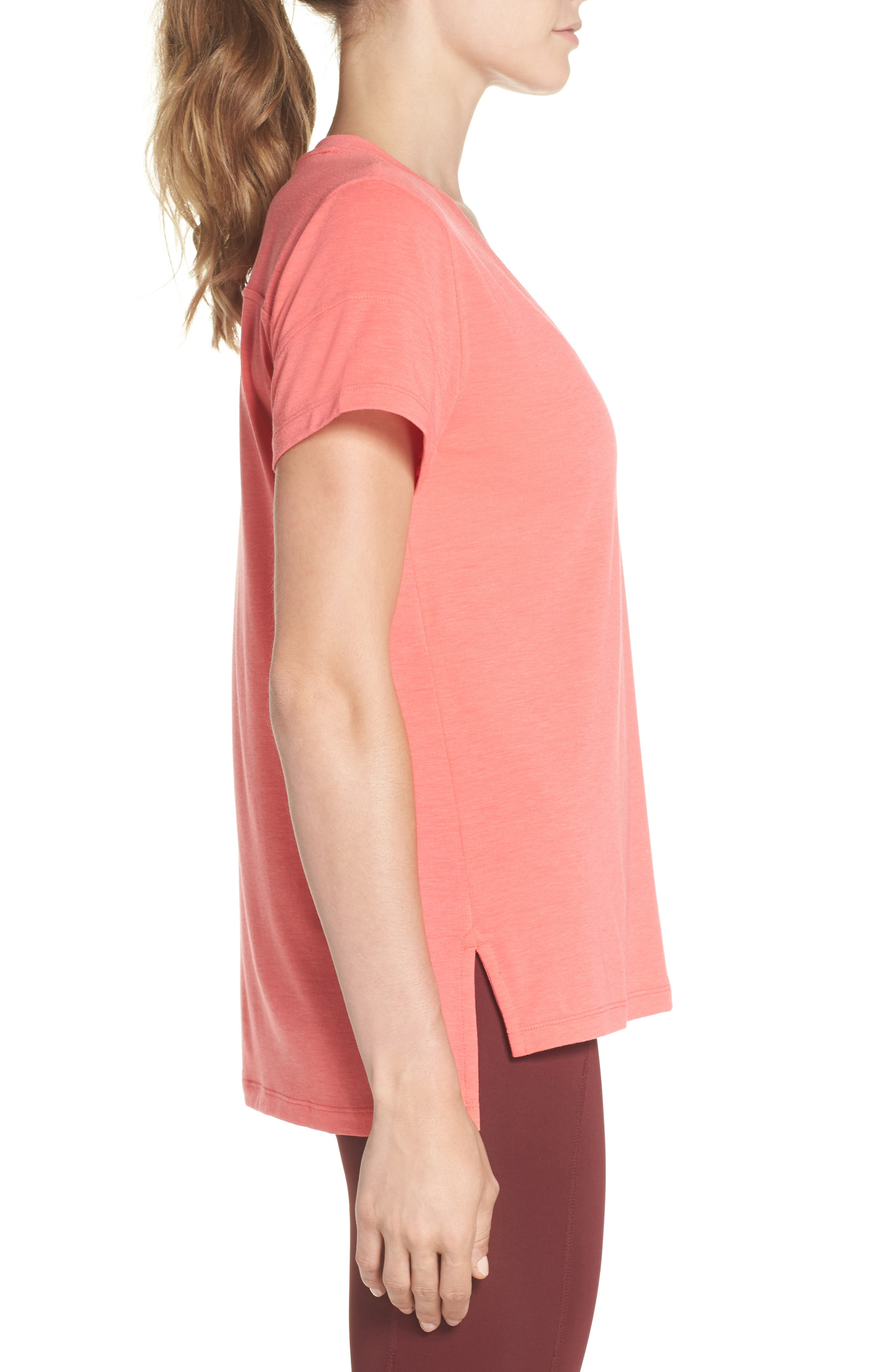 Ava Tee,                             Alternate thumbnail 3, color,                             Coral Calypso