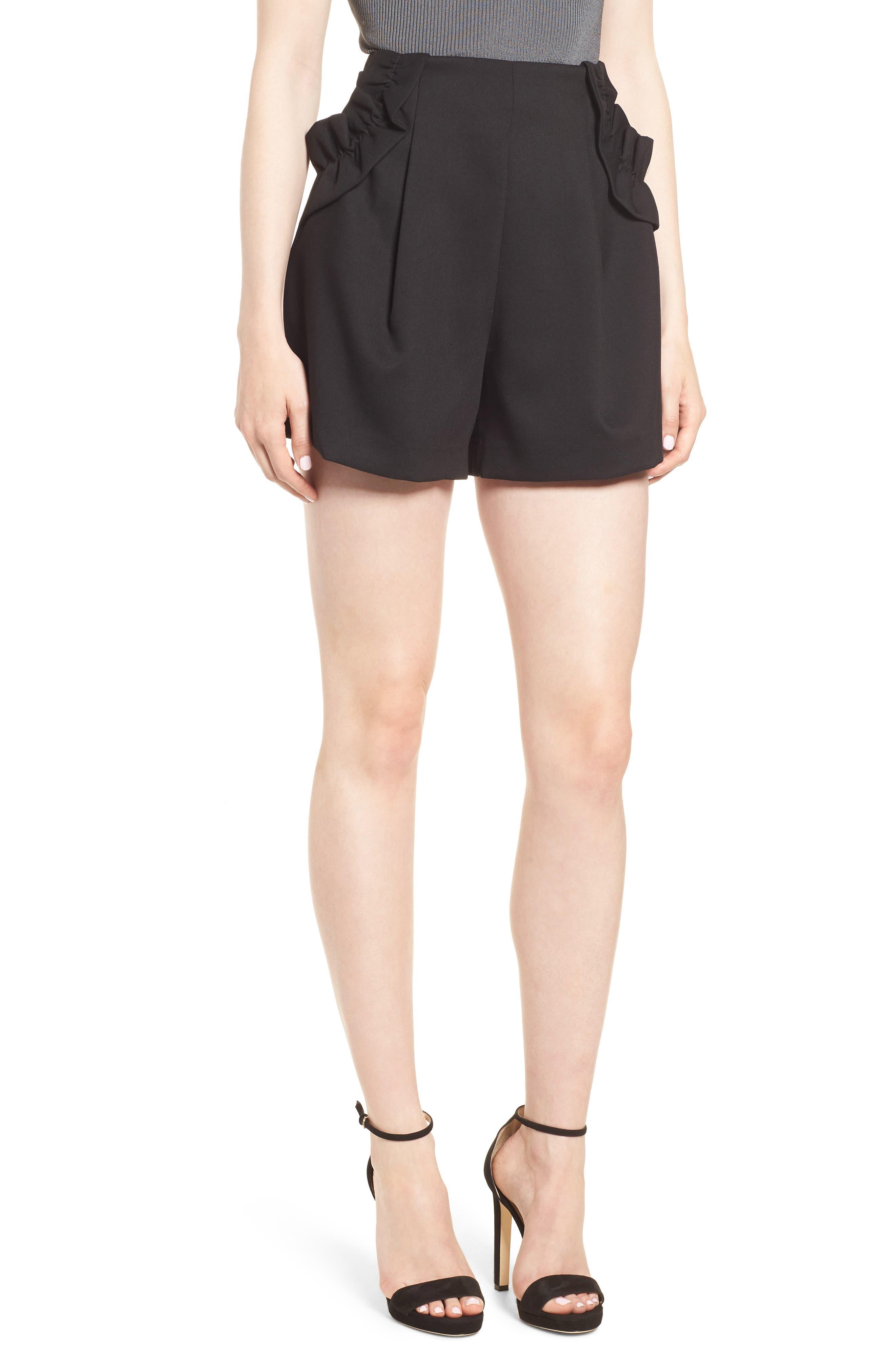 Harmony Shorts,                             Main thumbnail 1, color,                             Black