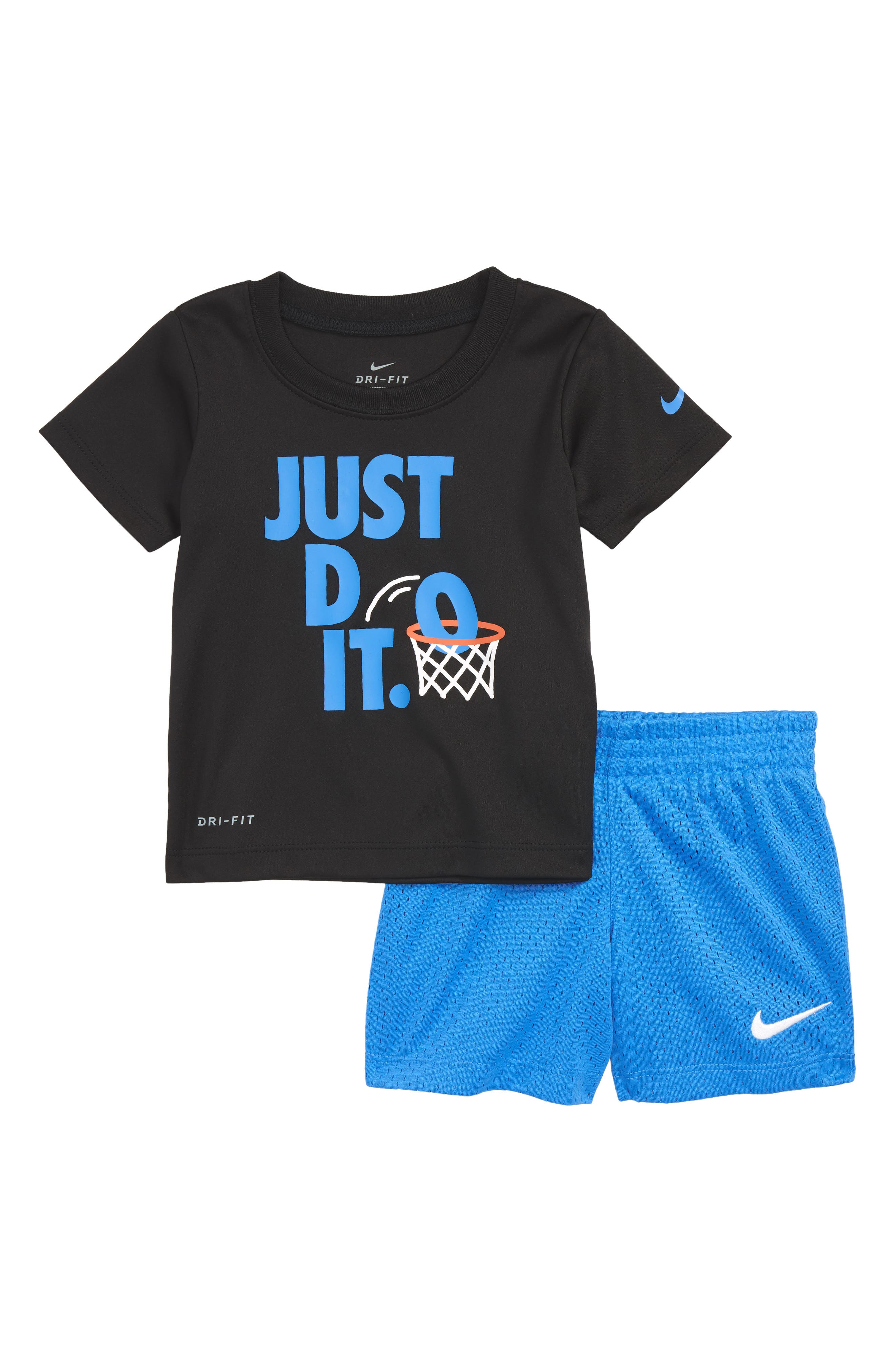 Nike JDI Dunk T-Shirt & Mesh Shorts (Baby Boys)
