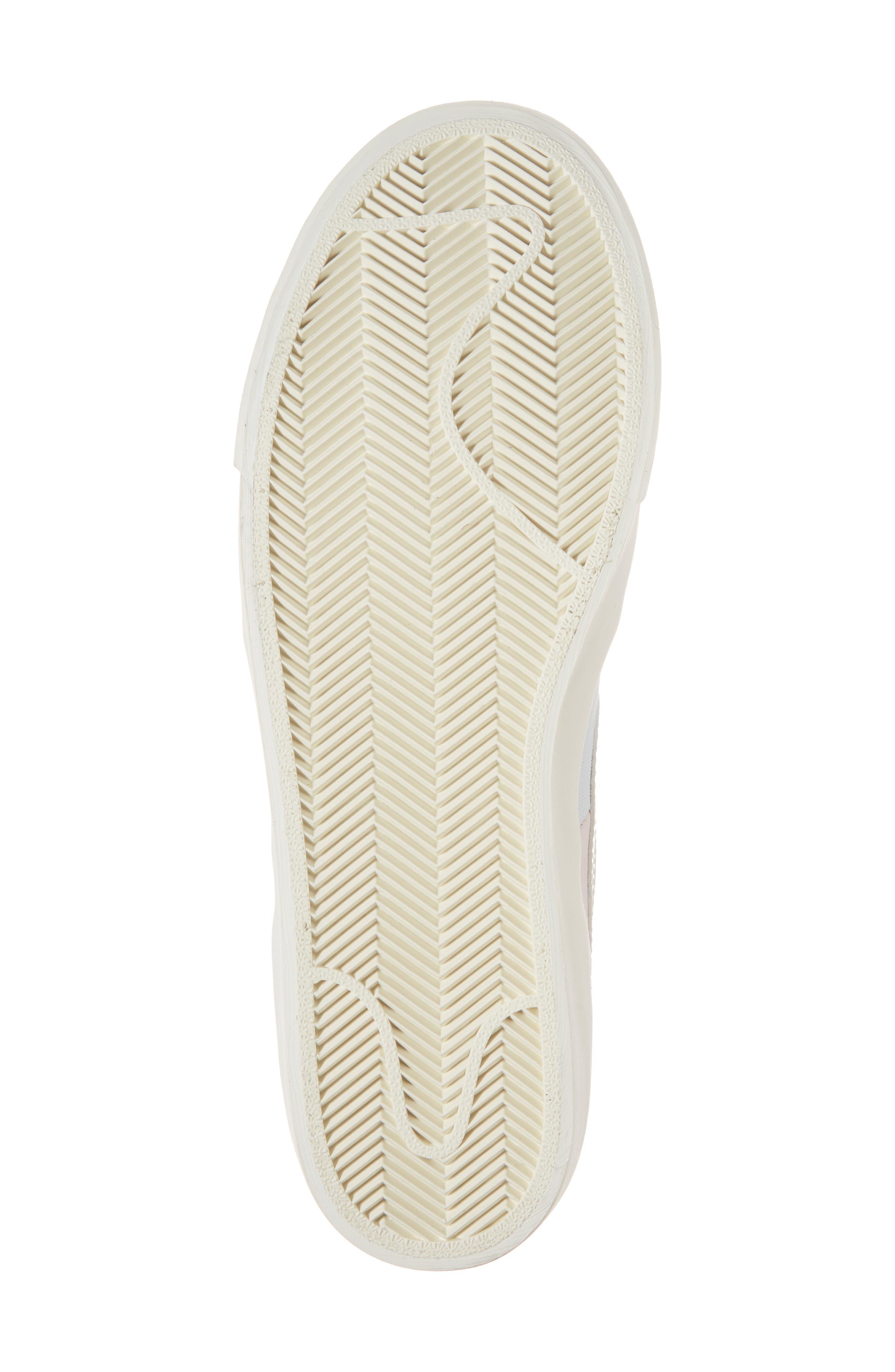 Blazer Royal Easter QS High Top Sneaker,                             Alternate thumbnail 6, color,                             Arctic Pink/ Sail-Blue-Blue