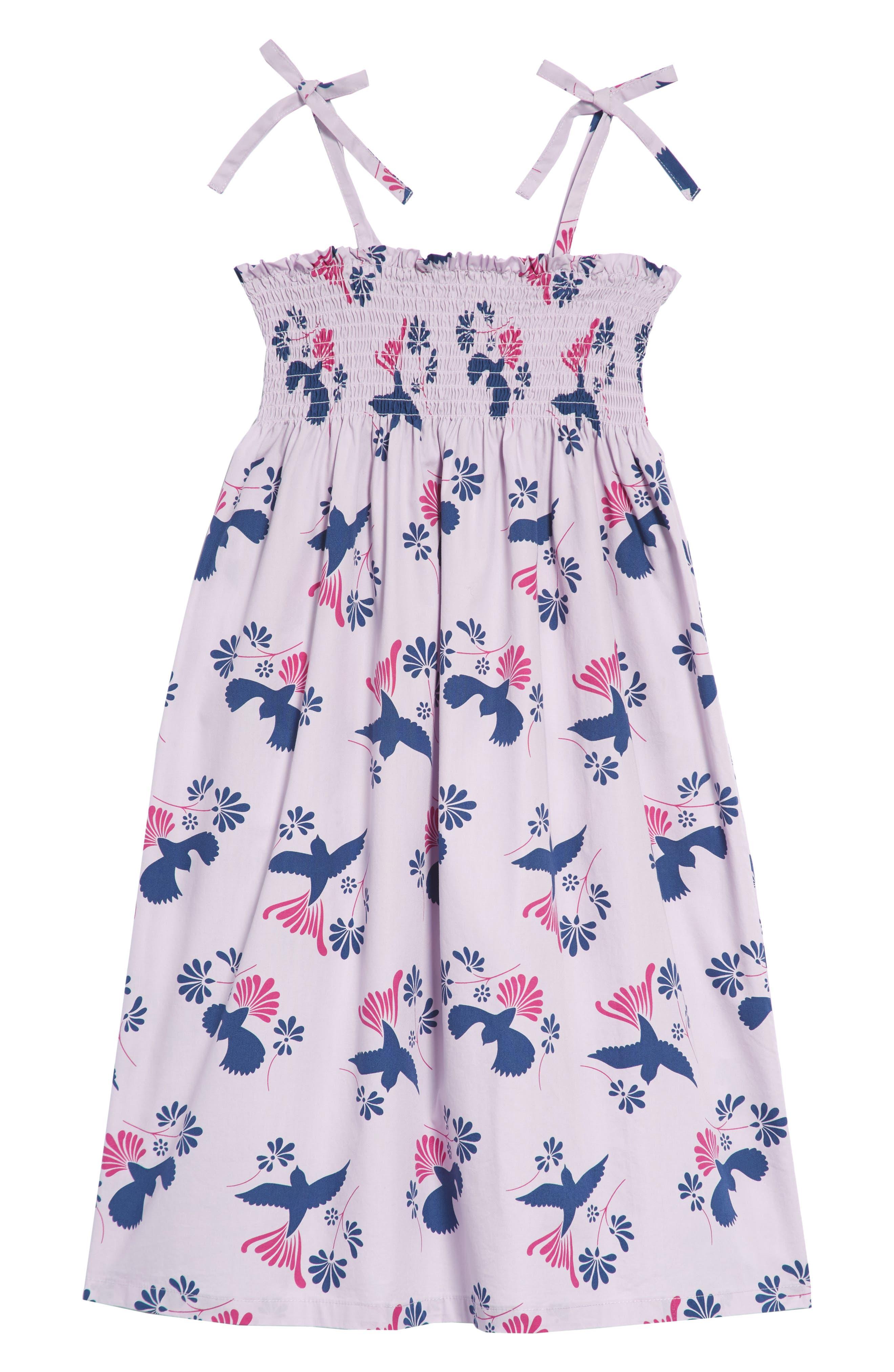 Tea Collection Braided Strap Dress (Toddler Girls, Little Girls & Big Girls)