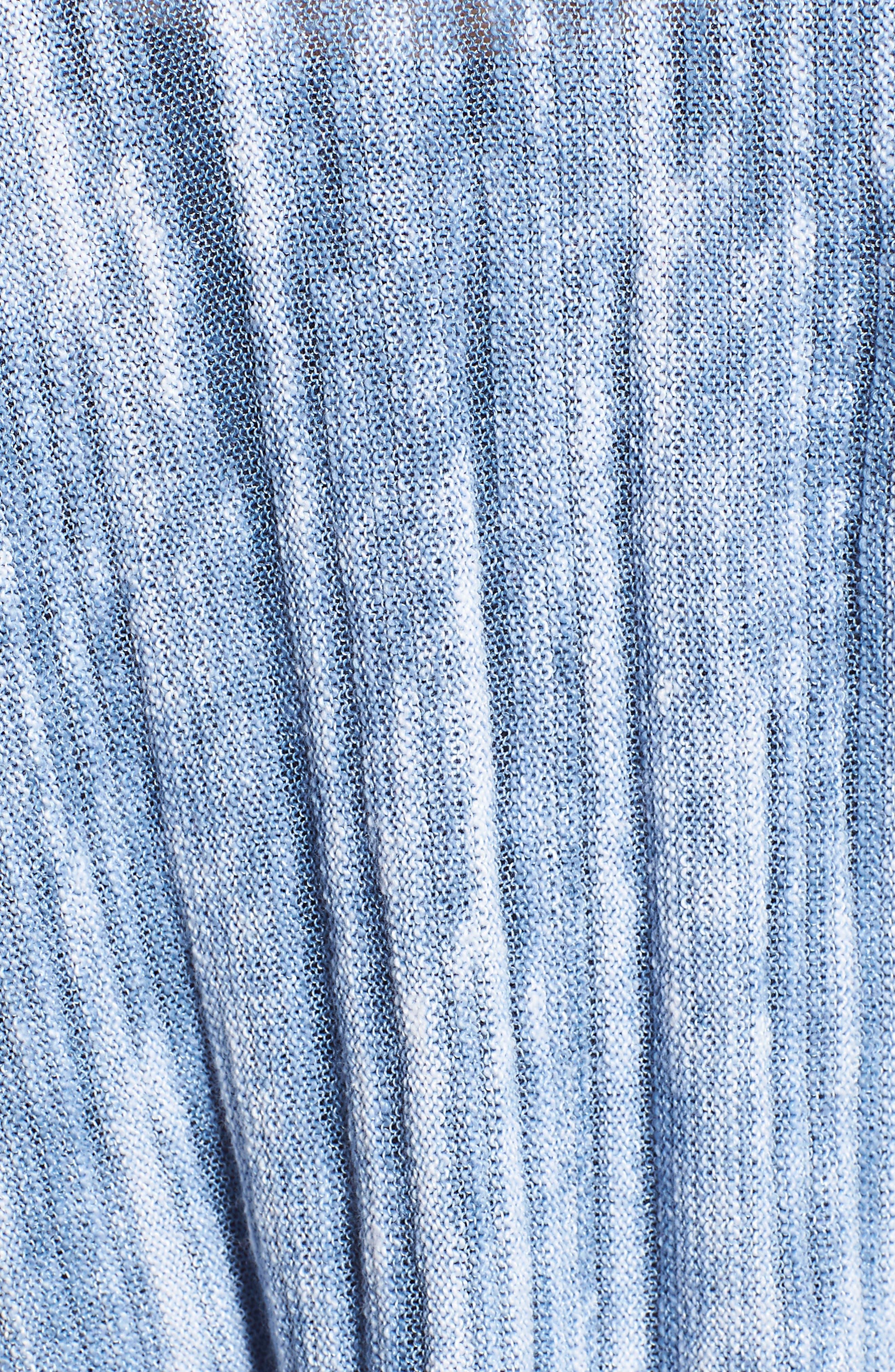 Open Breeze Cardigan,                             Alternate thumbnail 5, color,                             Blue Haze
