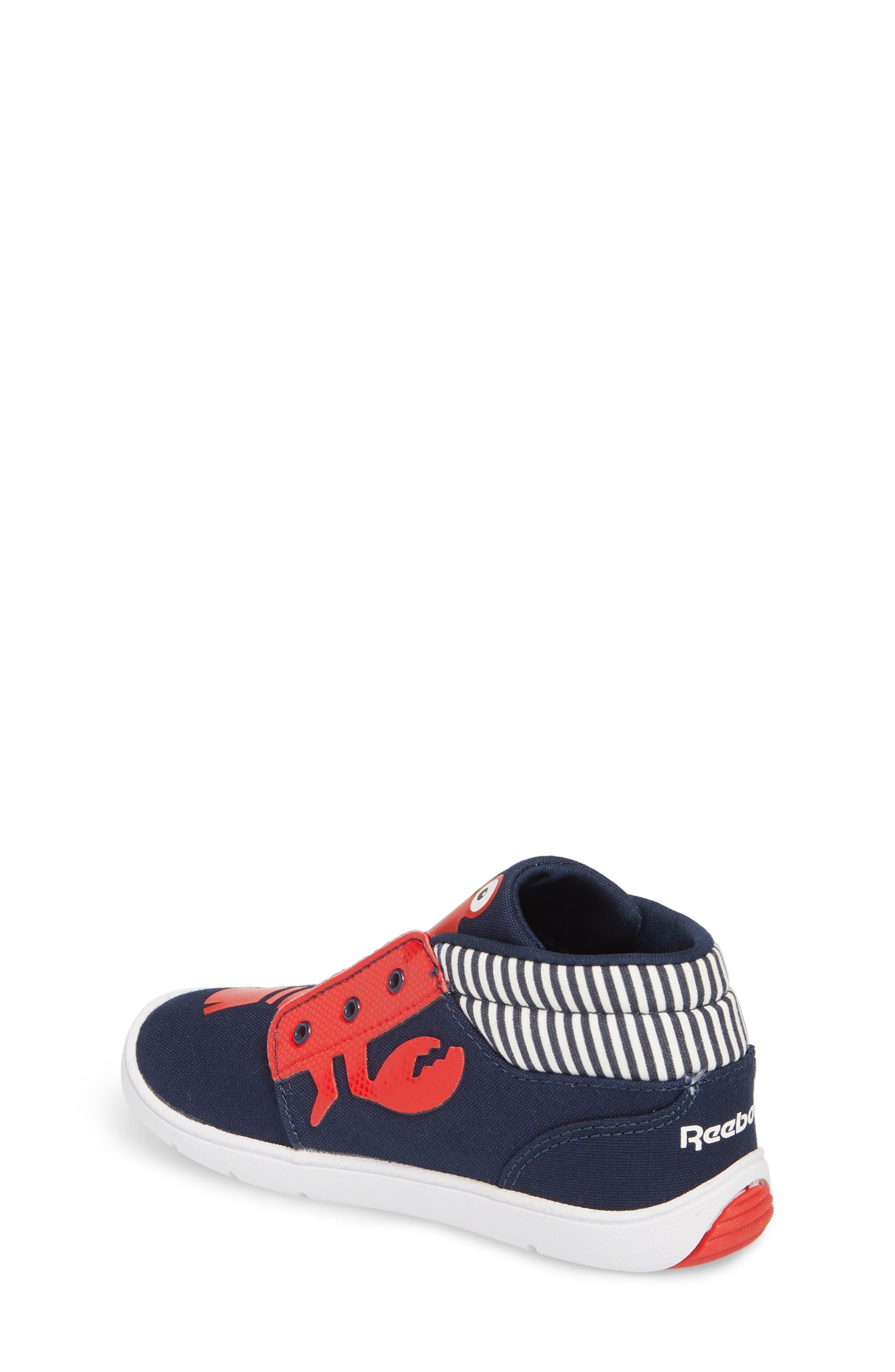 Ventureflex High Top Critter Sneaker,                             Alternate thumbnail 2, color,                             Blue