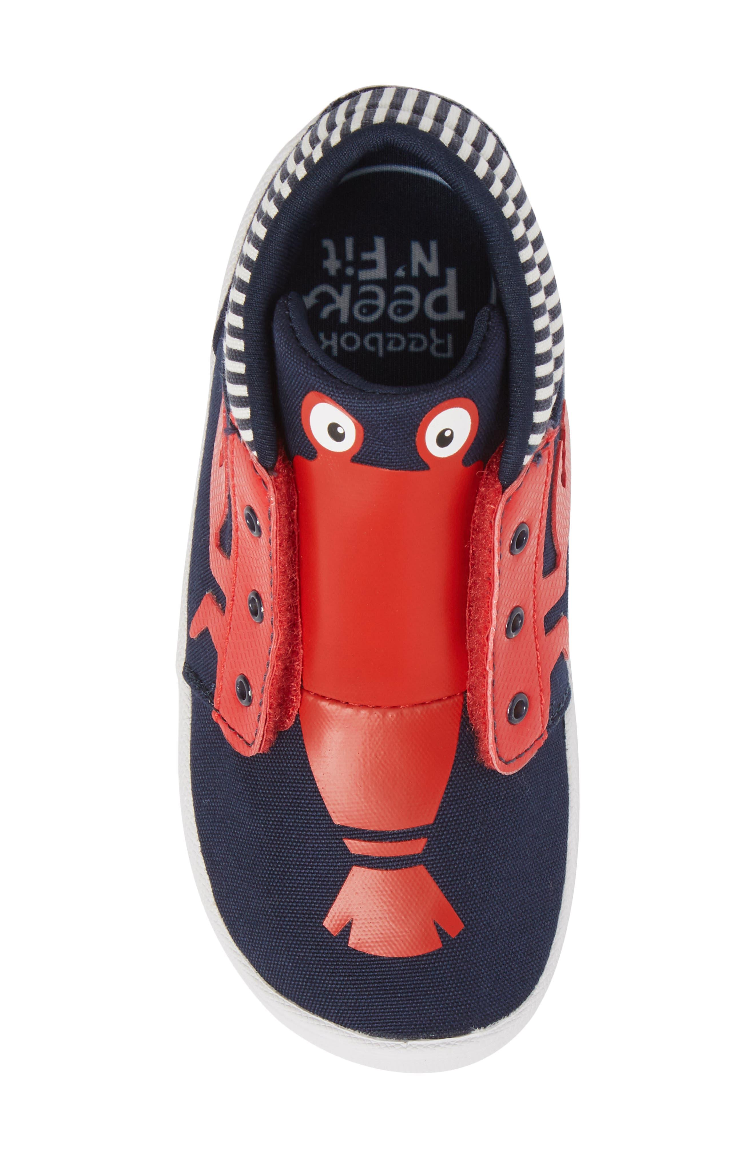 Ventureflex High Top Critter Sneaker,                             Alternate thumbnail 5, color,                             Blue