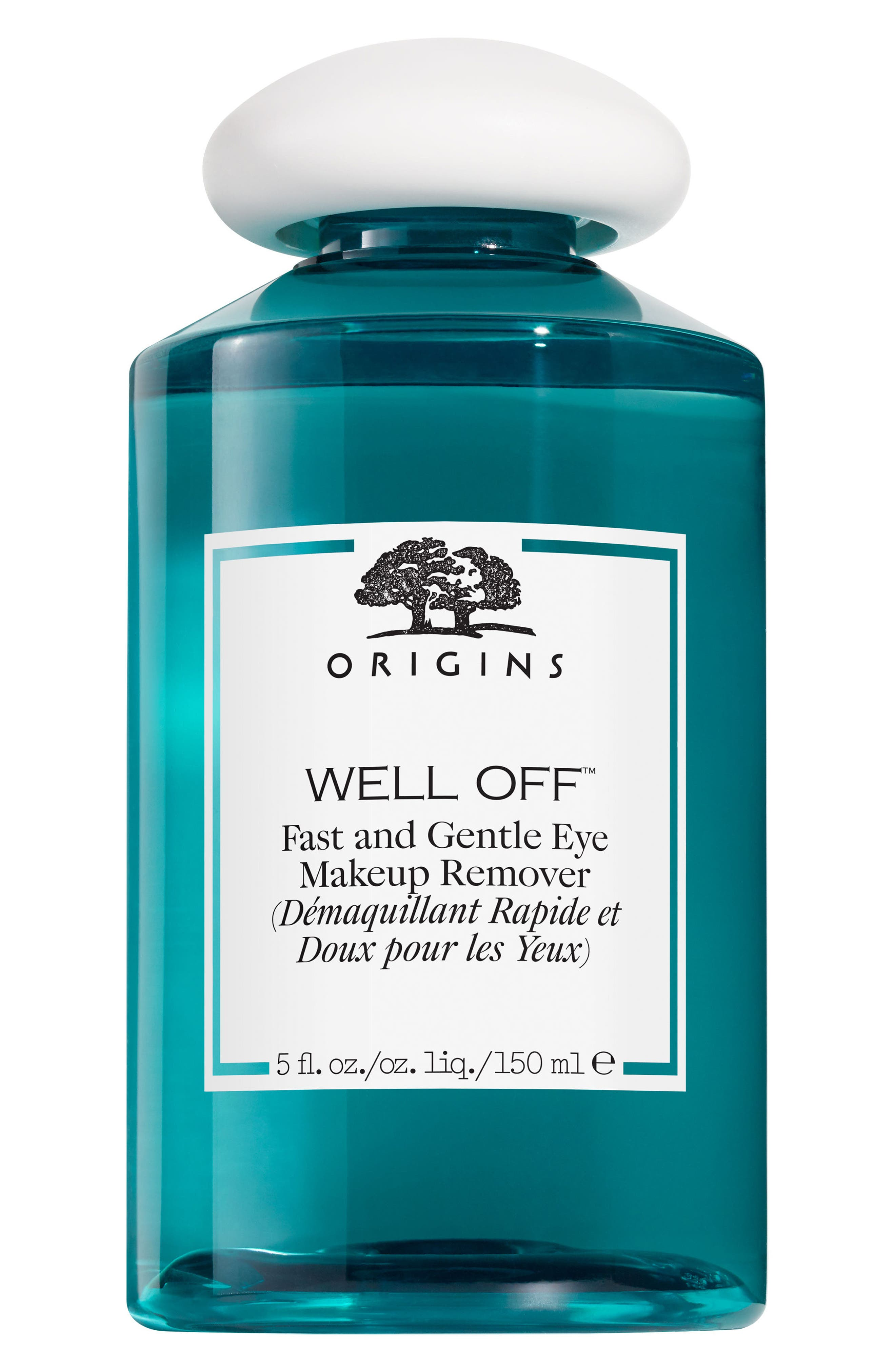 Well Off<sup>®</sup> Fast & Gentle Eye Makeup Remover,                             Main thumbnail 1, color,                             No Color