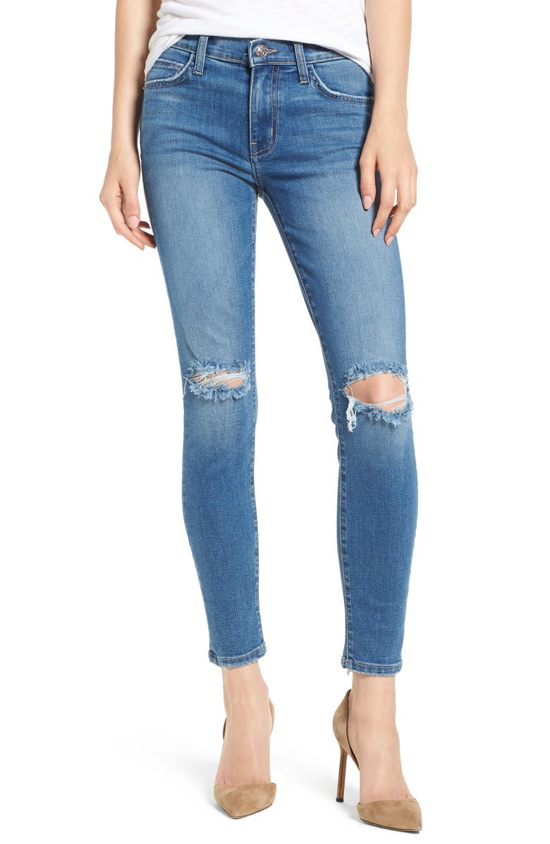 The Stiletto Ripped Skinny Jeans