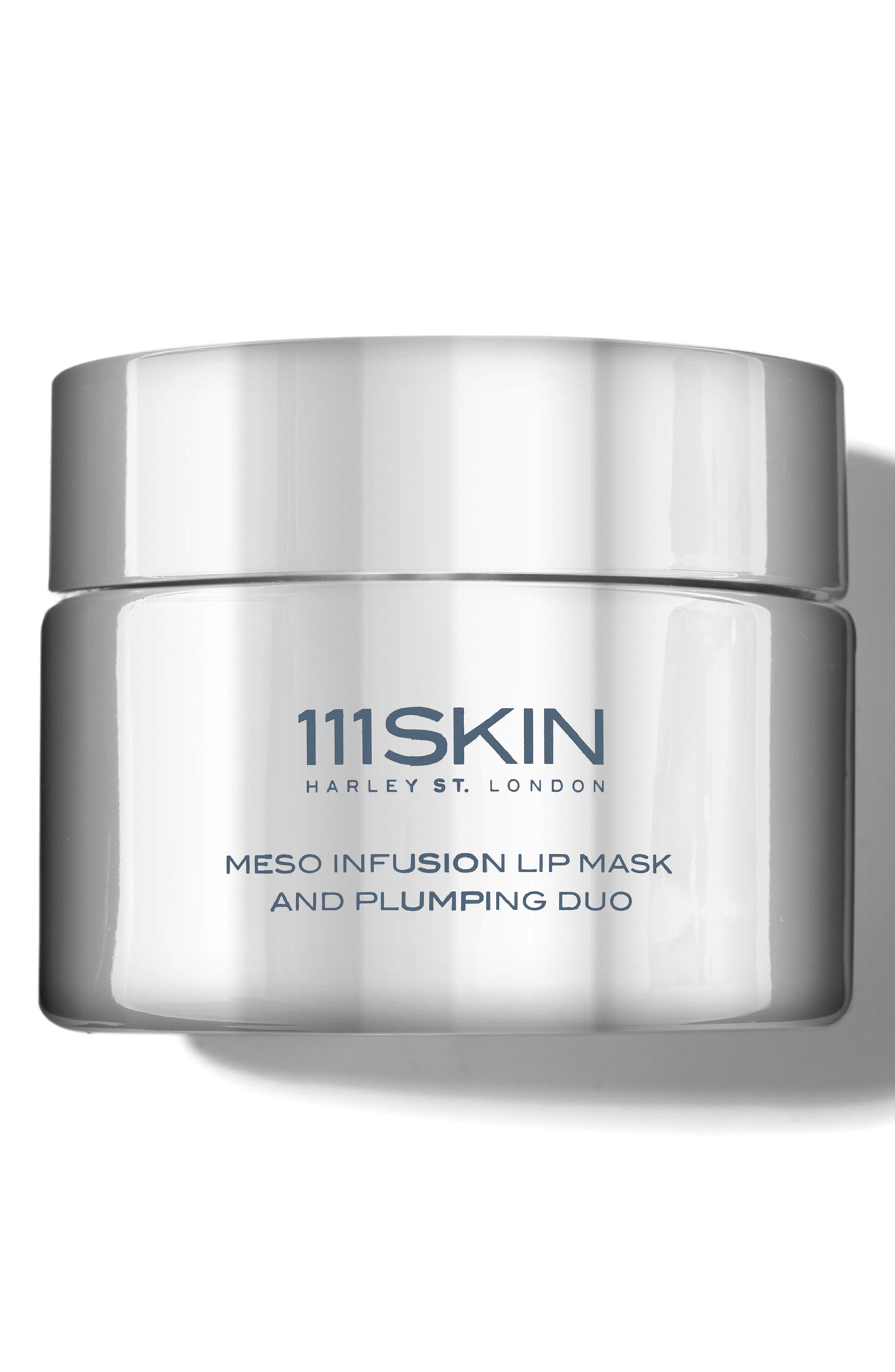 SPACE.NK.apothecary 111SKIN Meso Infusion Lip Mask & Plumping Duo,                             Main thumbnail 1, color,                             No Color