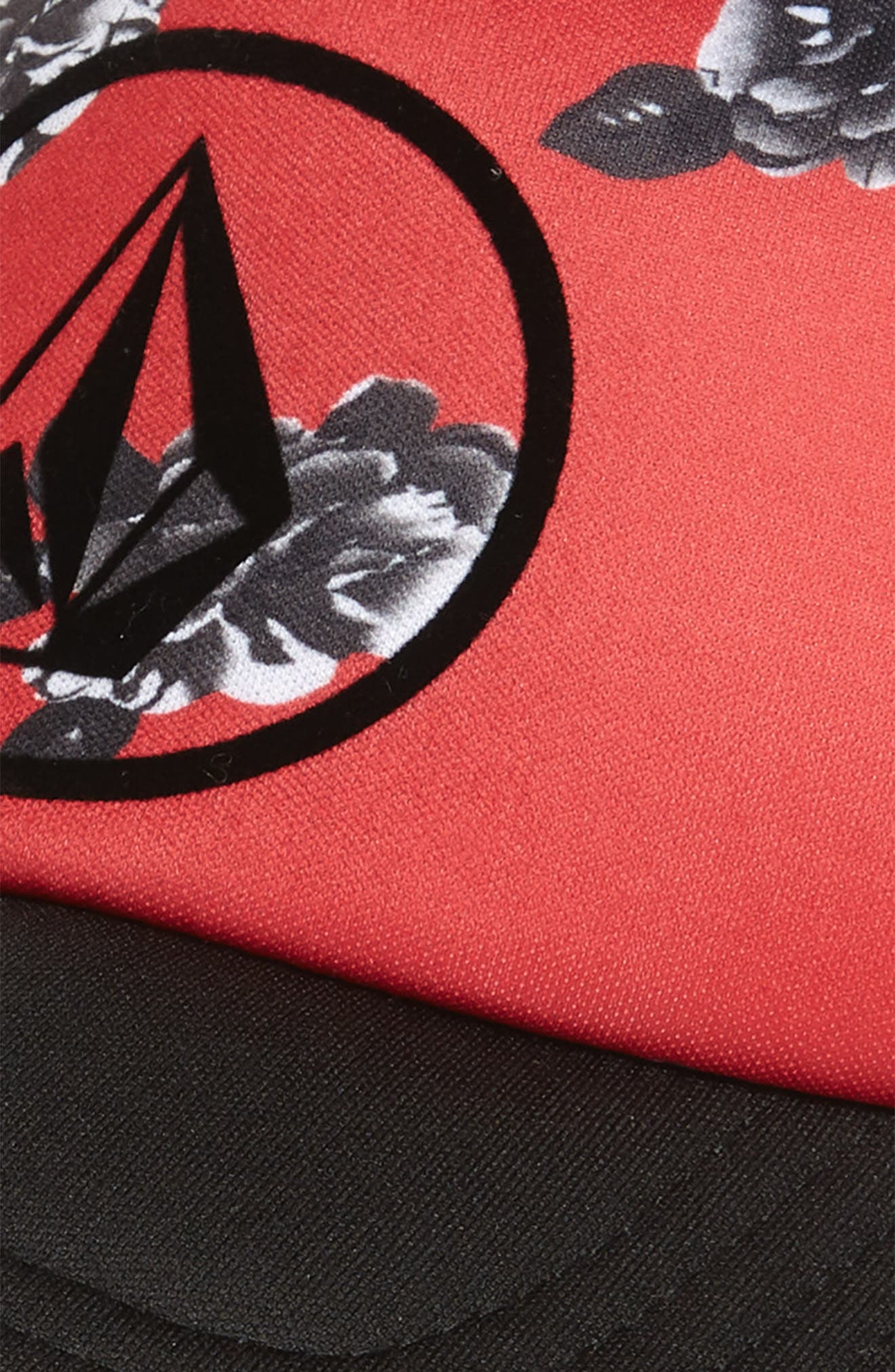 Tagurit Trucker Hat,                             Alternate thumbnail 3, color,                             Red Rad