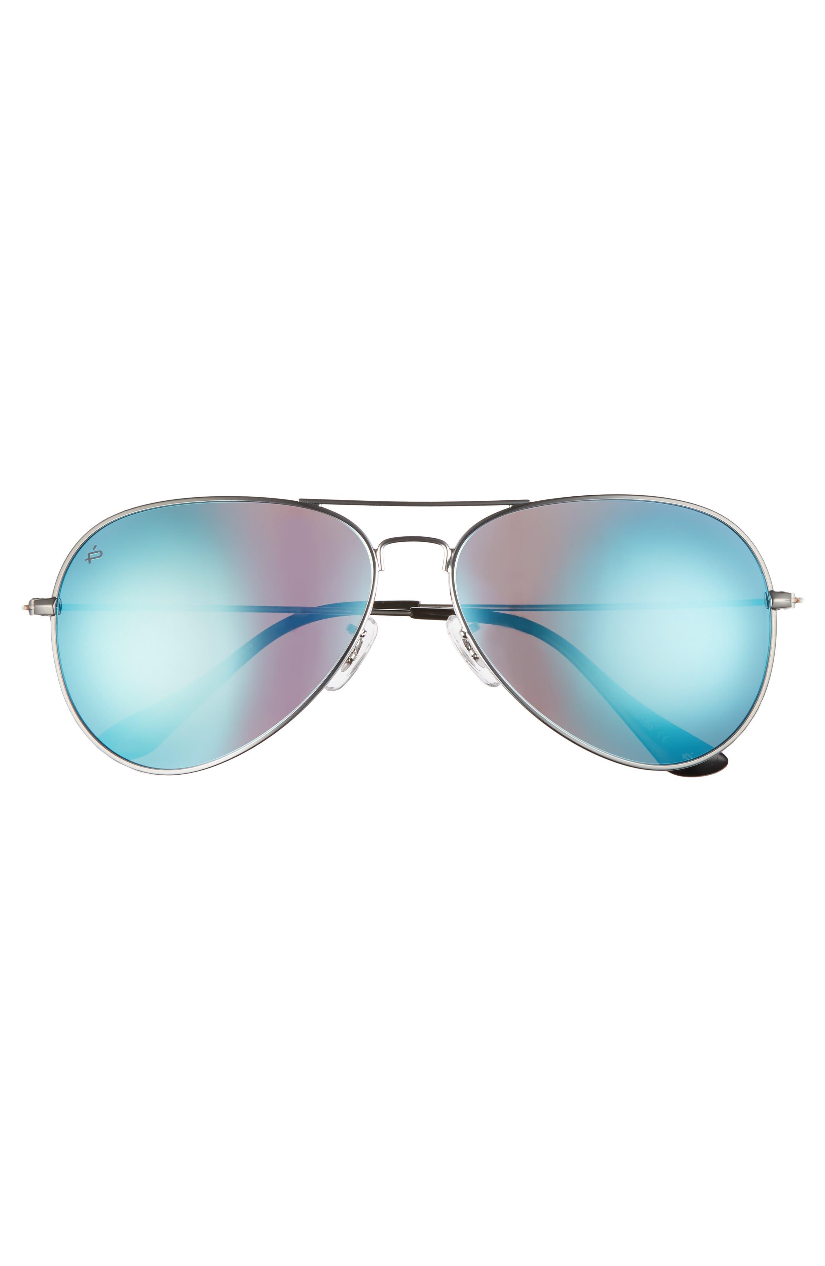 Alternate Image 3  - Privé Revaux The Commando 60mm Aviator Sunglasses
