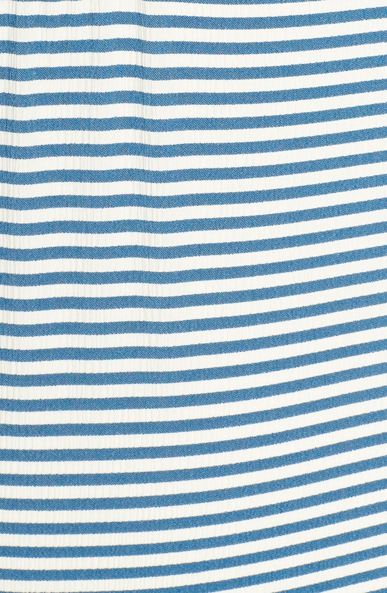 Sea Rinse One-Piece Swimsuit,                             Alternate thumbnail 5, color,                             Bright Indigo