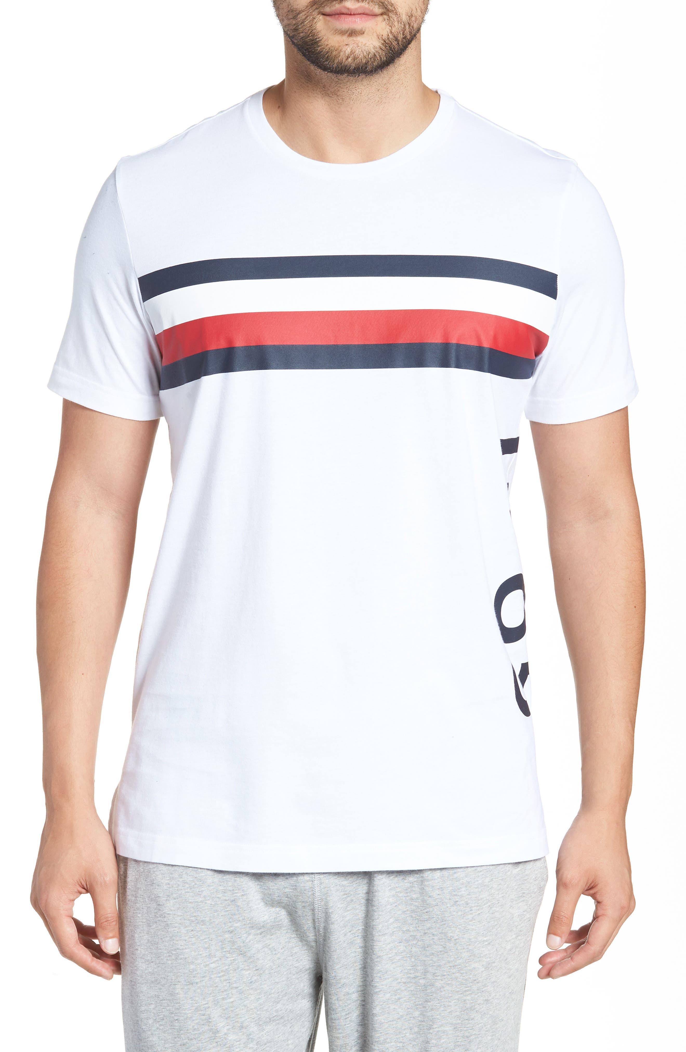 1985 Stripe T-Shirt,                             Main thumbnail 1, color,                             White