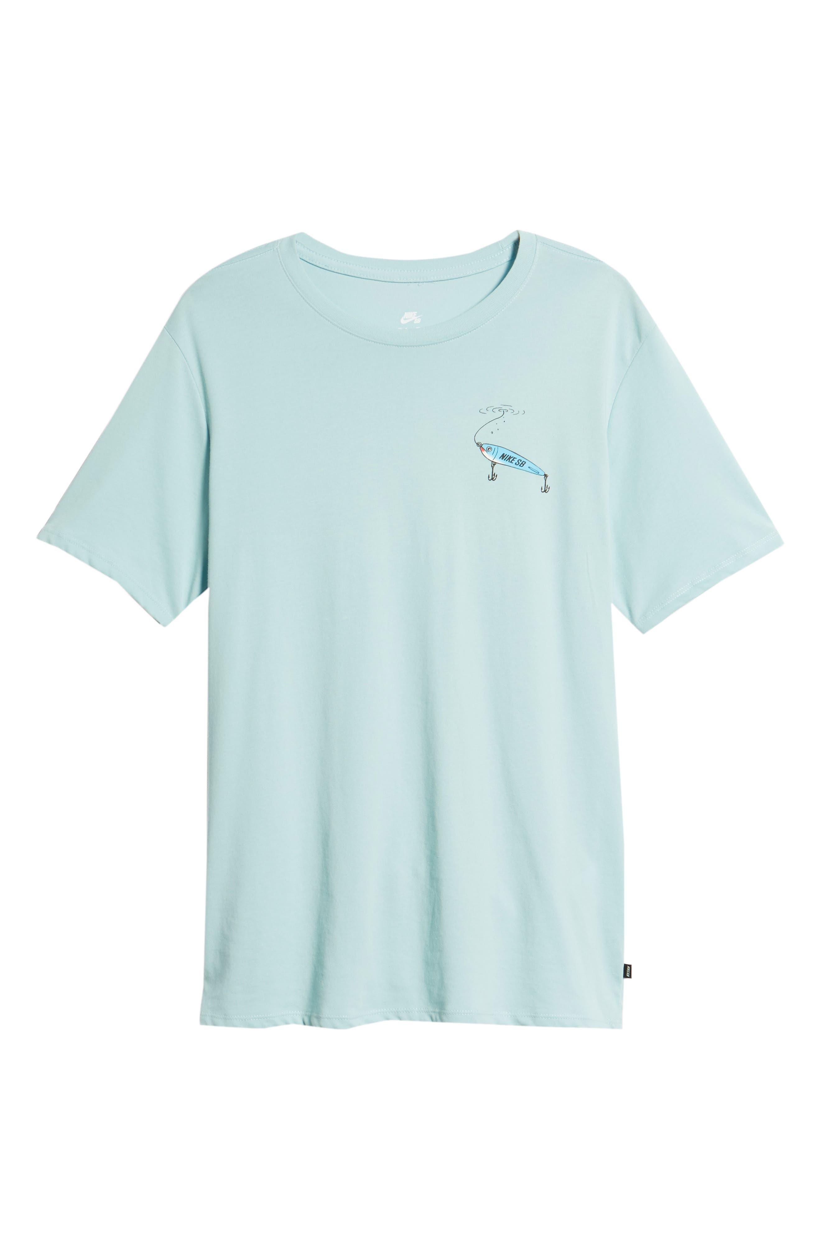 Dry Walrus T-Shirt,                             Alternate thumbnail 6, color,                             Ocean Bliss/ Black
