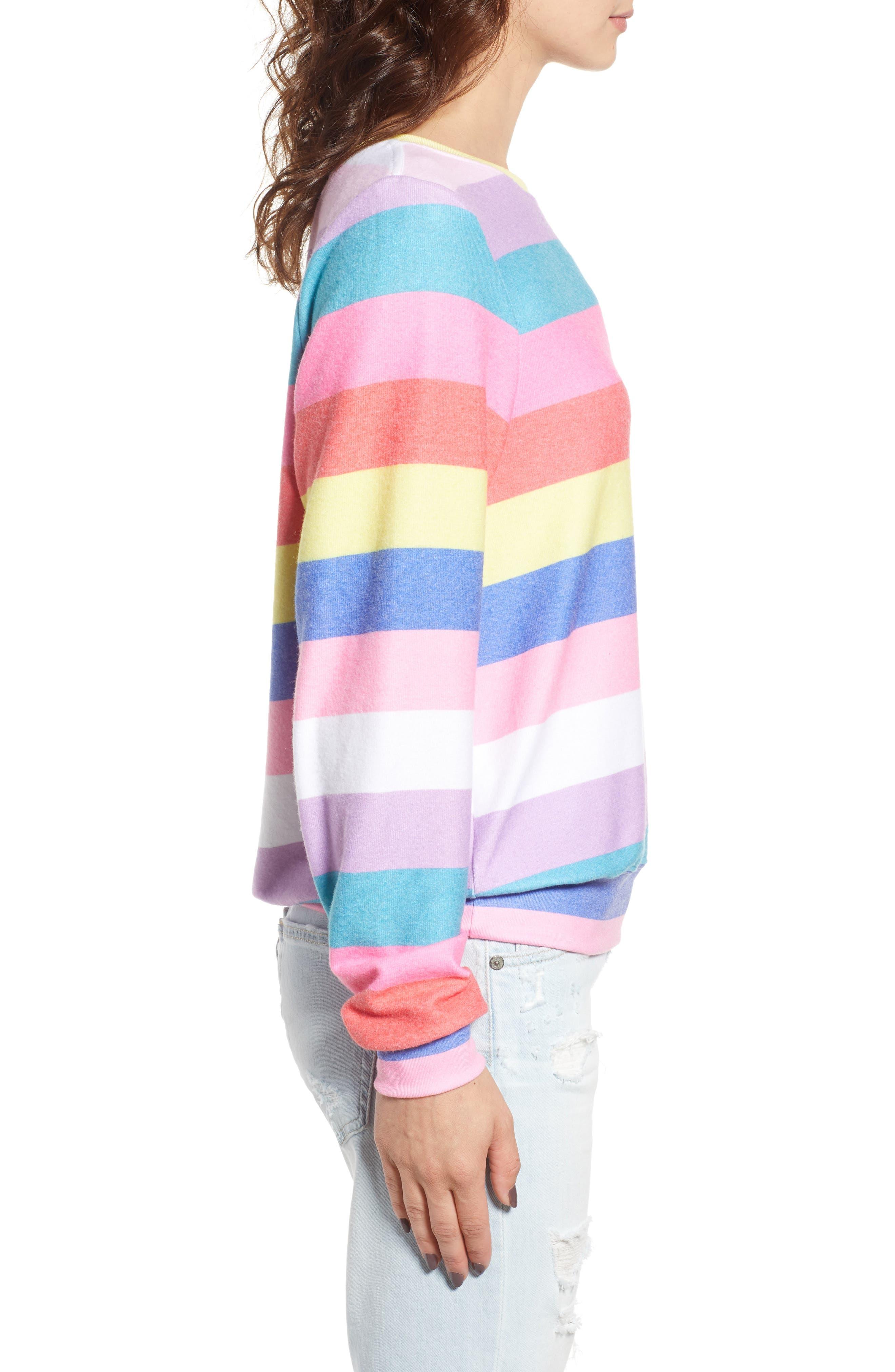 Castaway Roadtrip Sweatshirt,                             Alternate thumbnail 3, color,                             Multi Colored