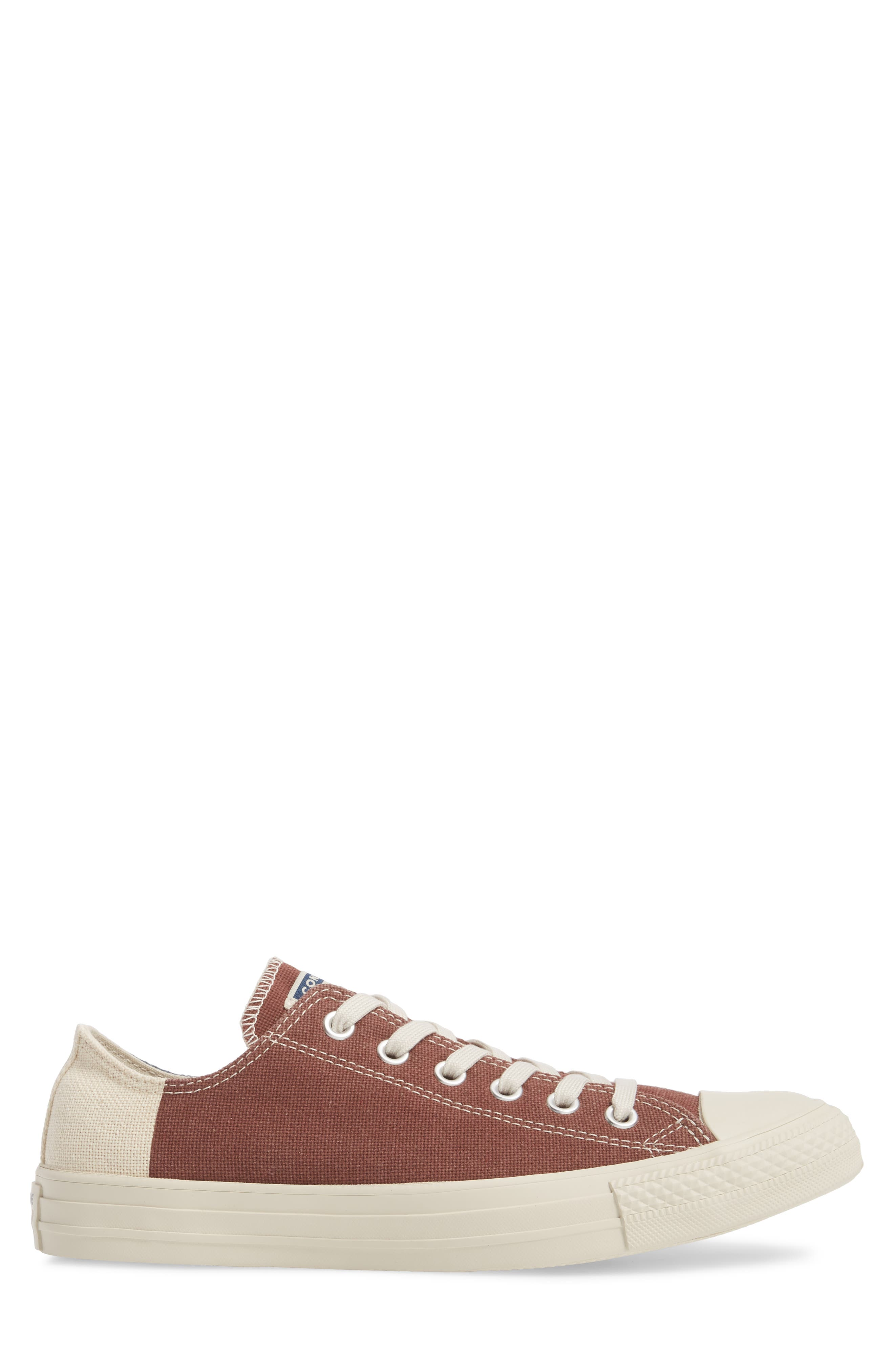 Chuck Taylor<sup>®</sup> All Star<sup>®</sup> Jute Americana Low Top Sneaker,                             Alternate thumbnail 3, color,                             Aegean Storm