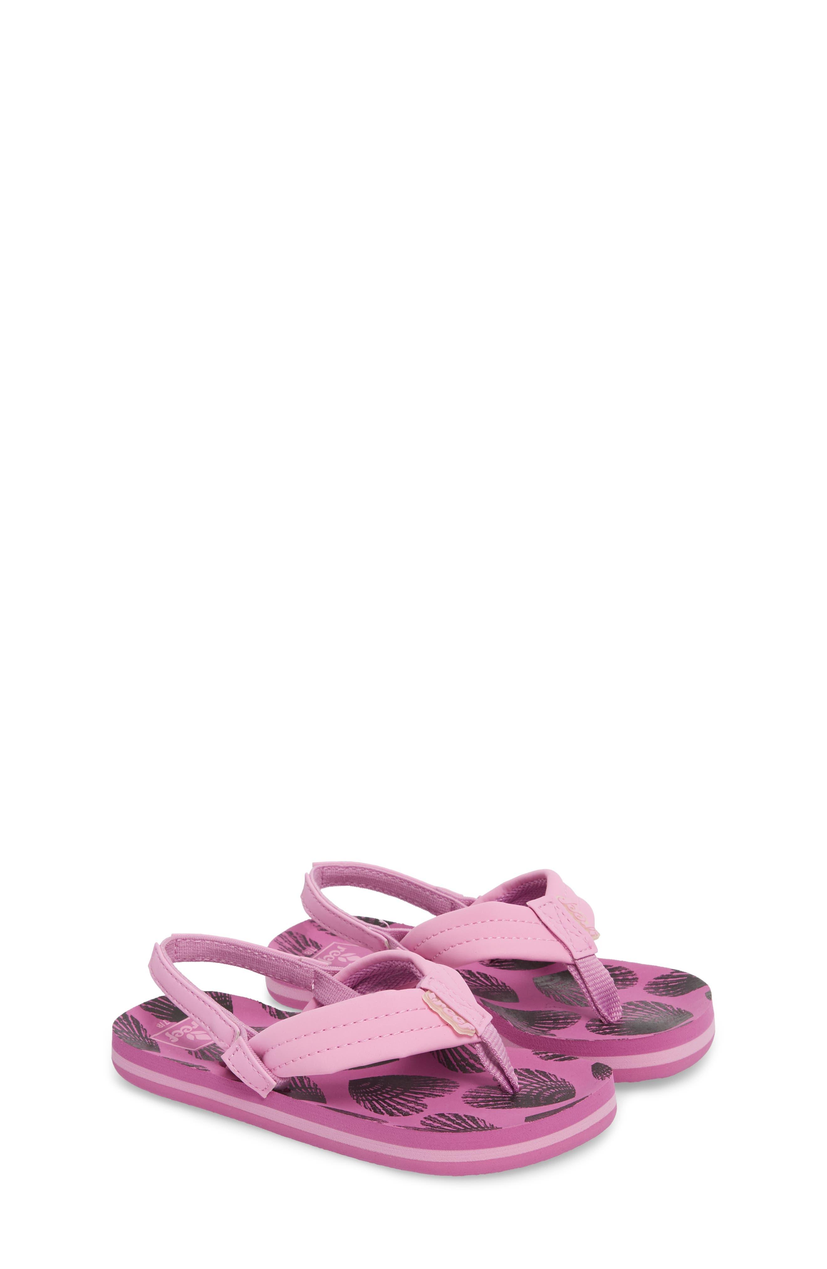 Little Ahi Sandal,                             Alternate thumbnail 3, color,                             Purple