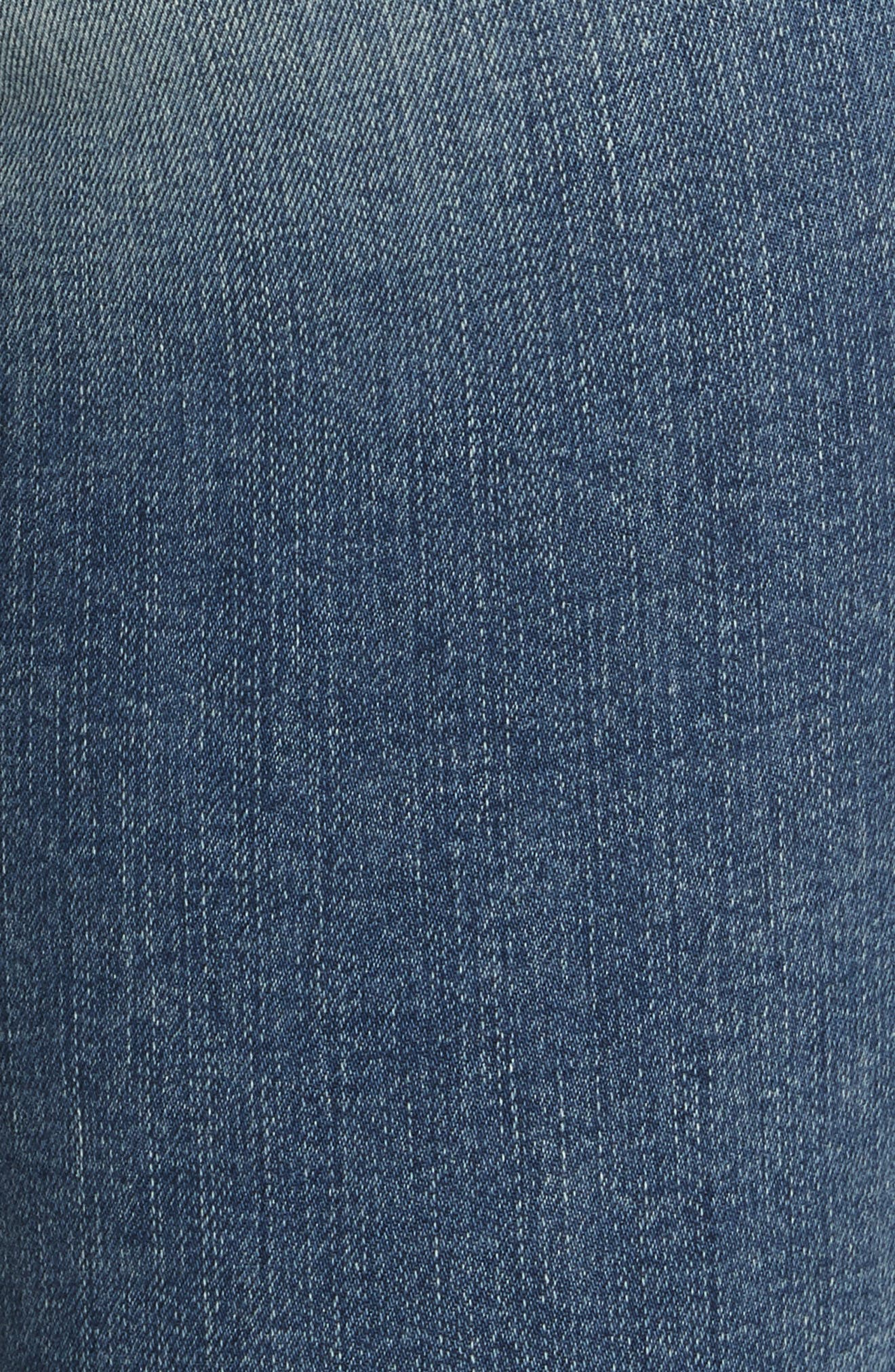Le Skinny de Jeanne Crop Jeans,                             Alternate thumbnail 5, color,                             Stokes