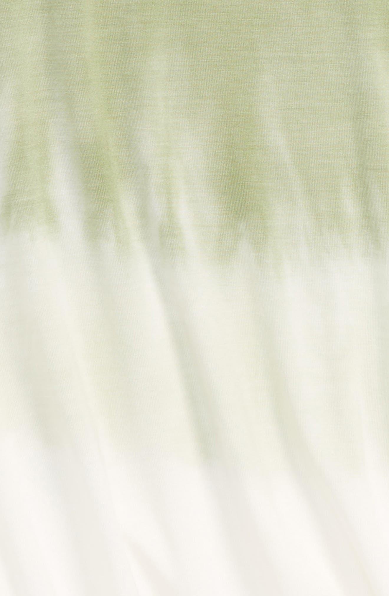 Bleach Mock Neck Tee,                             Alternate thumbnail 2, color,                             Seafoam Green