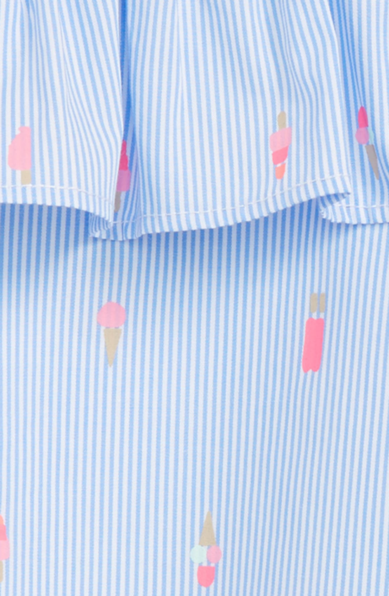 mini ice pops cold shoulder dress,                             Alternate thumbnail 2, color,                             Blue Bonnet/ Fresh