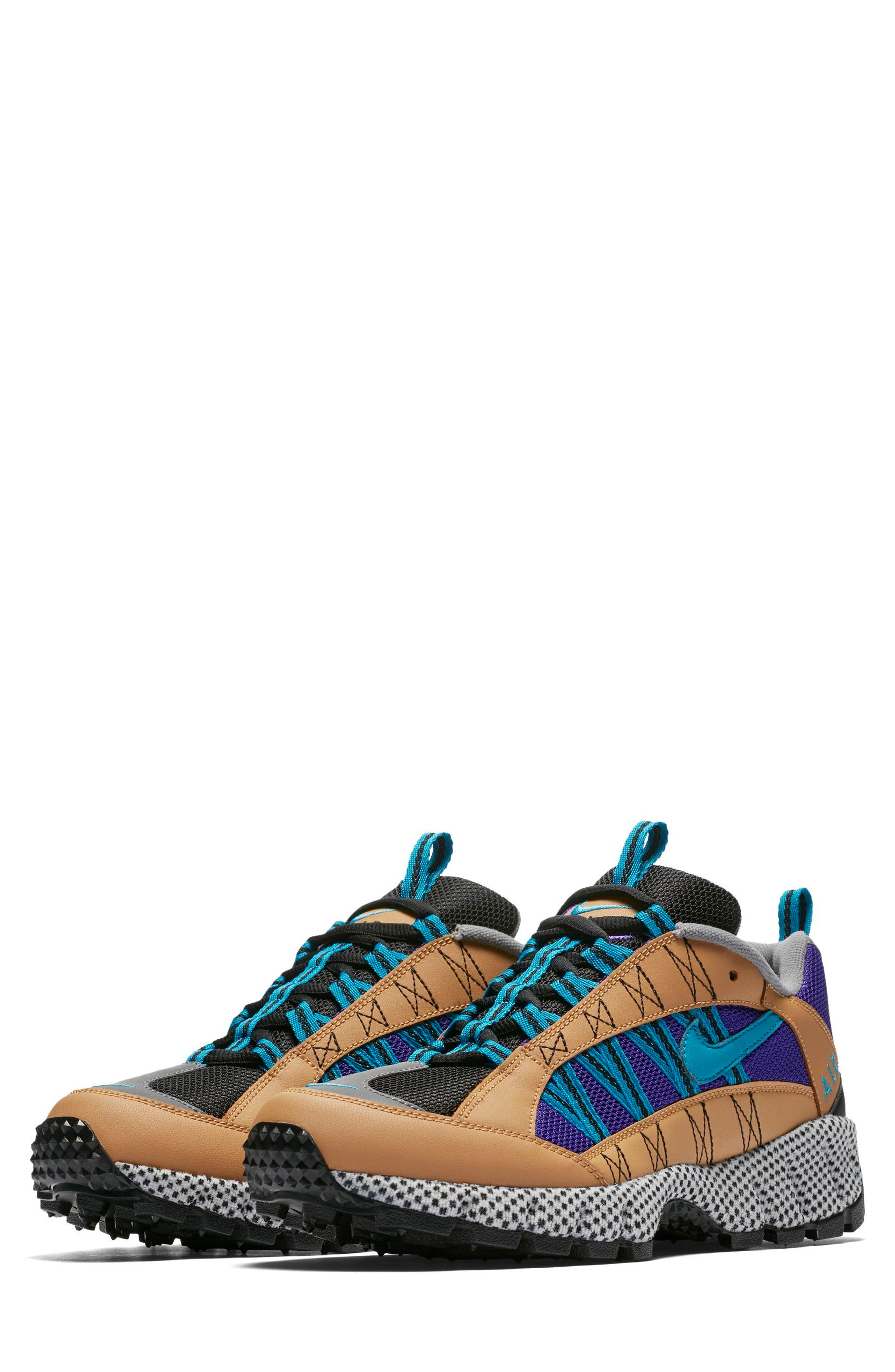 Air Humara 17 QS Sneaker,                             Main thumbnail 1, color,                             Gold/ Turquoise-Purple