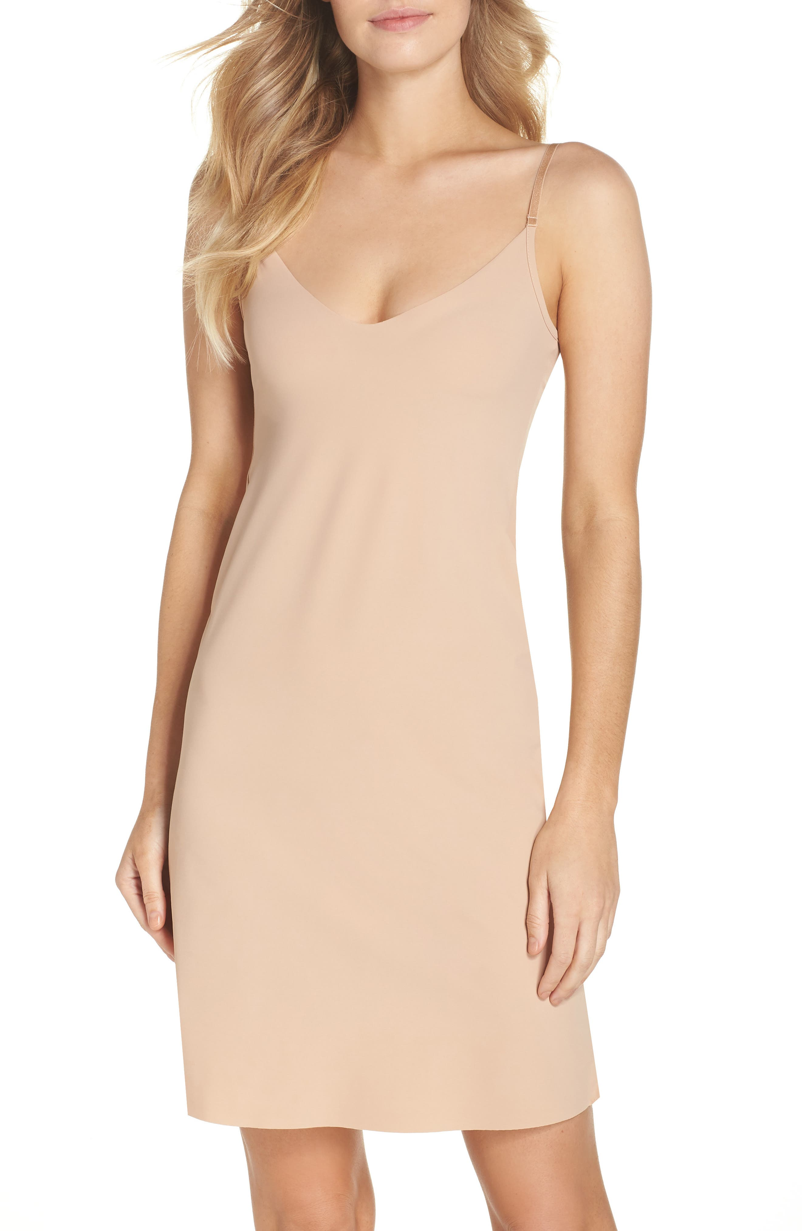 Fitted Slip,                         Main,                         color, True Nude