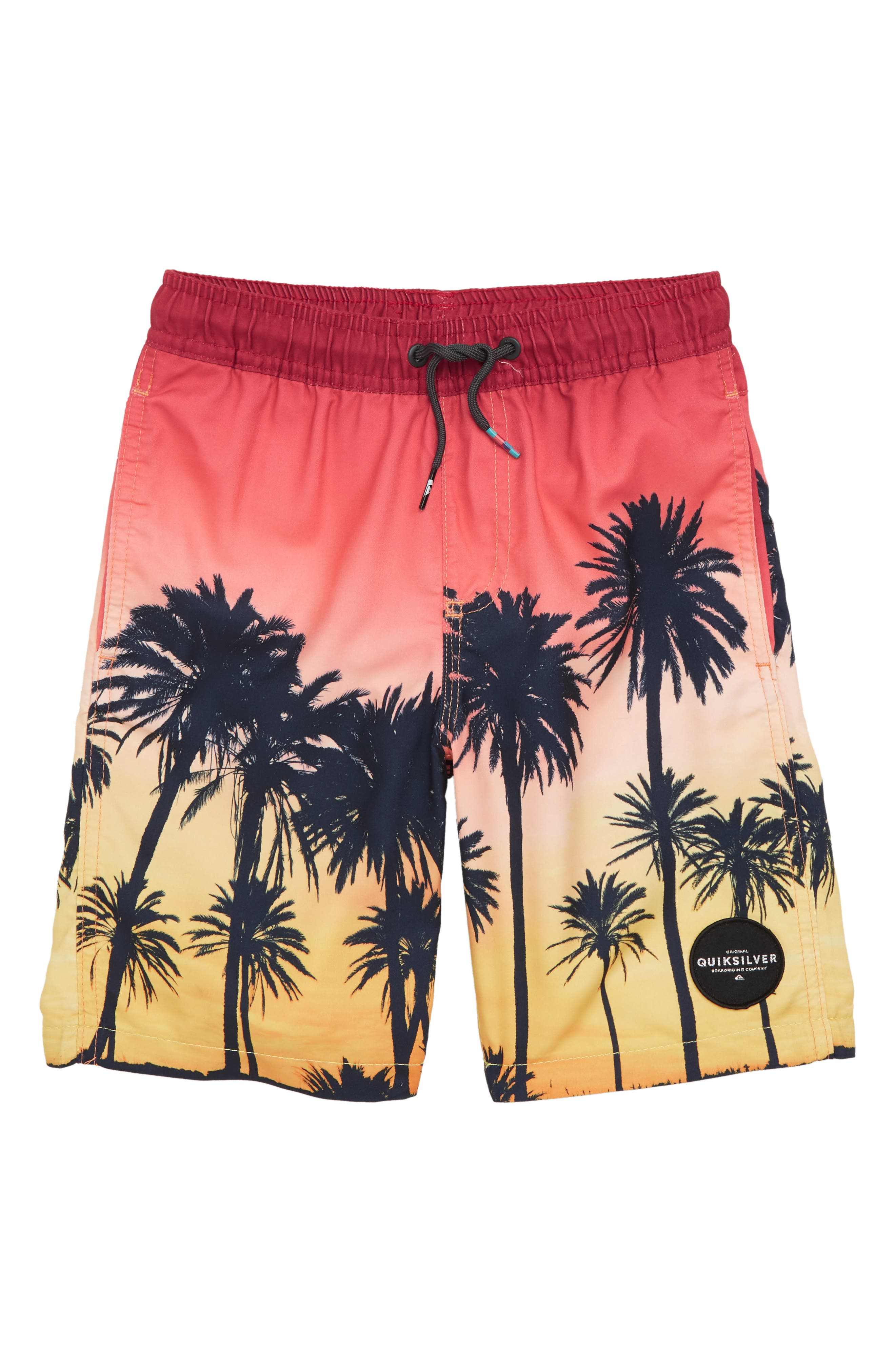 Quiksilver Sunset Vibes Volley Shorts (Toddler Boys & Little Boys)