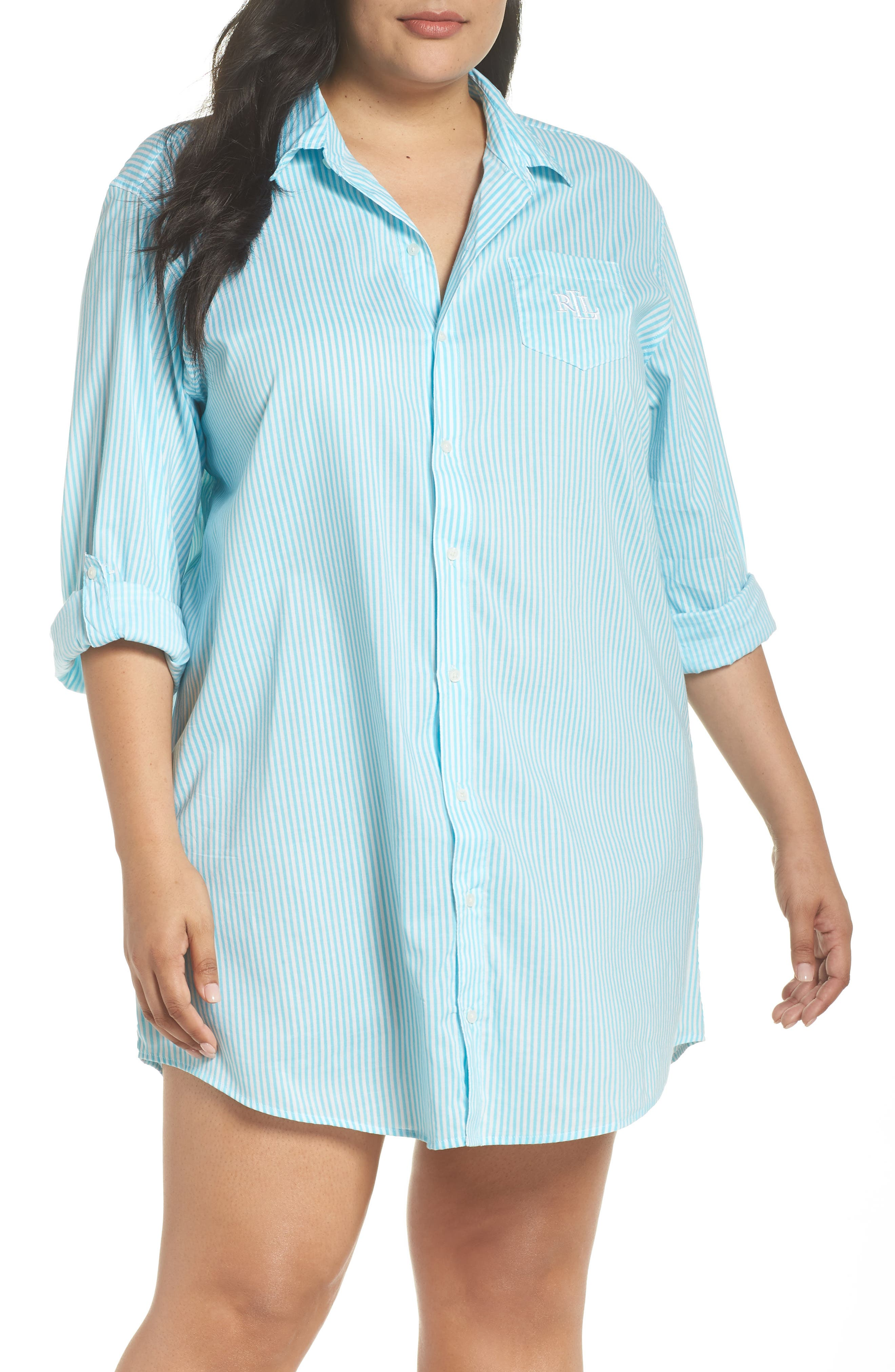 Lauren Ralph Lauren Nightshirt (Plus Size)