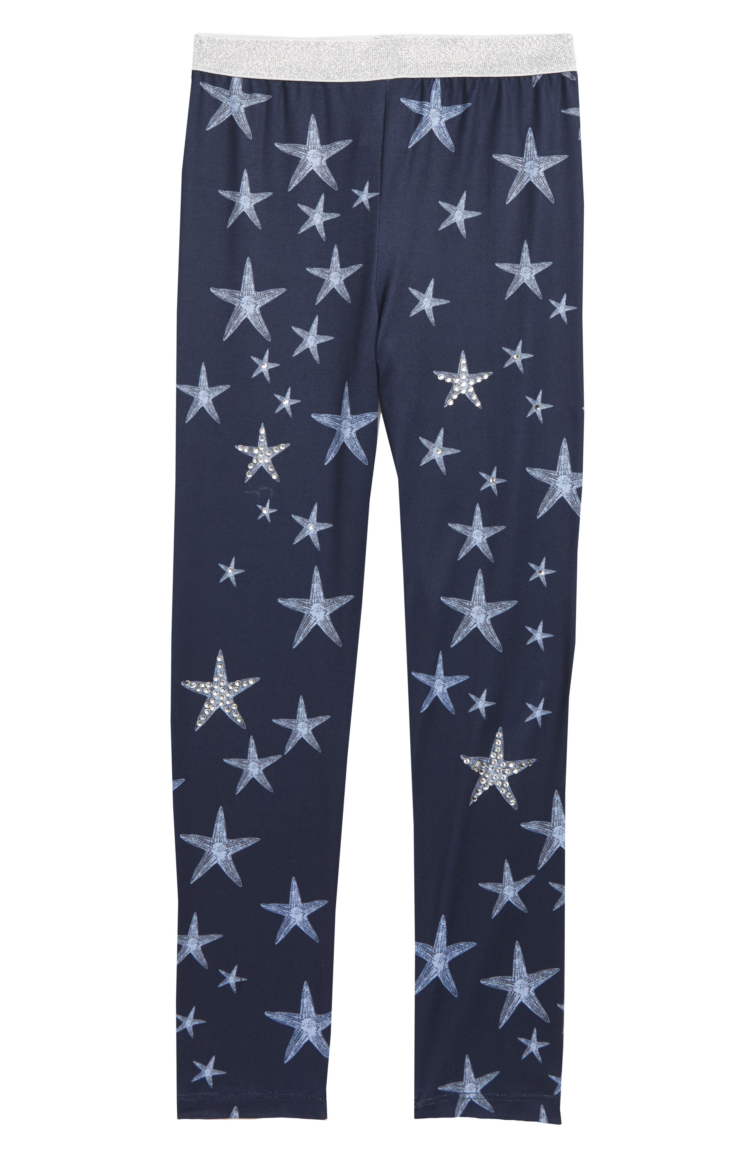 Truly Me Starfish Leggings (Toddler Girls & Little Girls)